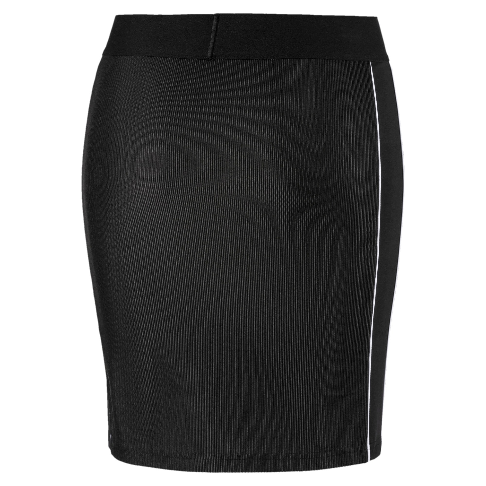 Miniatura 5 de Falda Classicscon cordoncillo para mujer, Puma Black, mediano