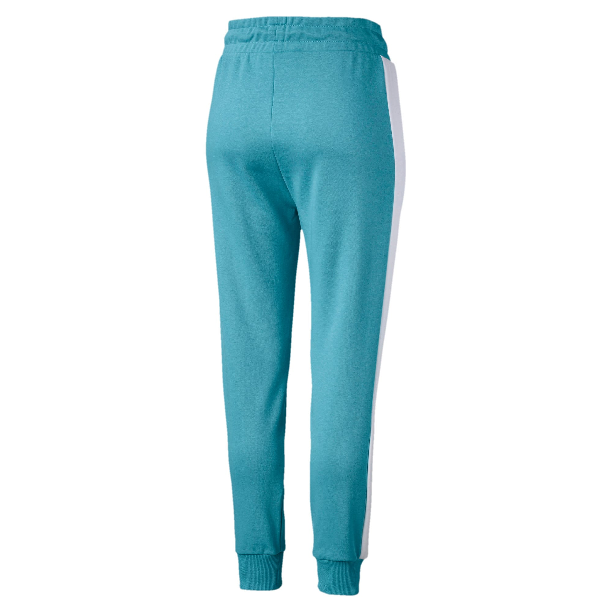 Thumbnail 5 of Classics T7 Knitted Women's Track Pants, Milky Blue, medium