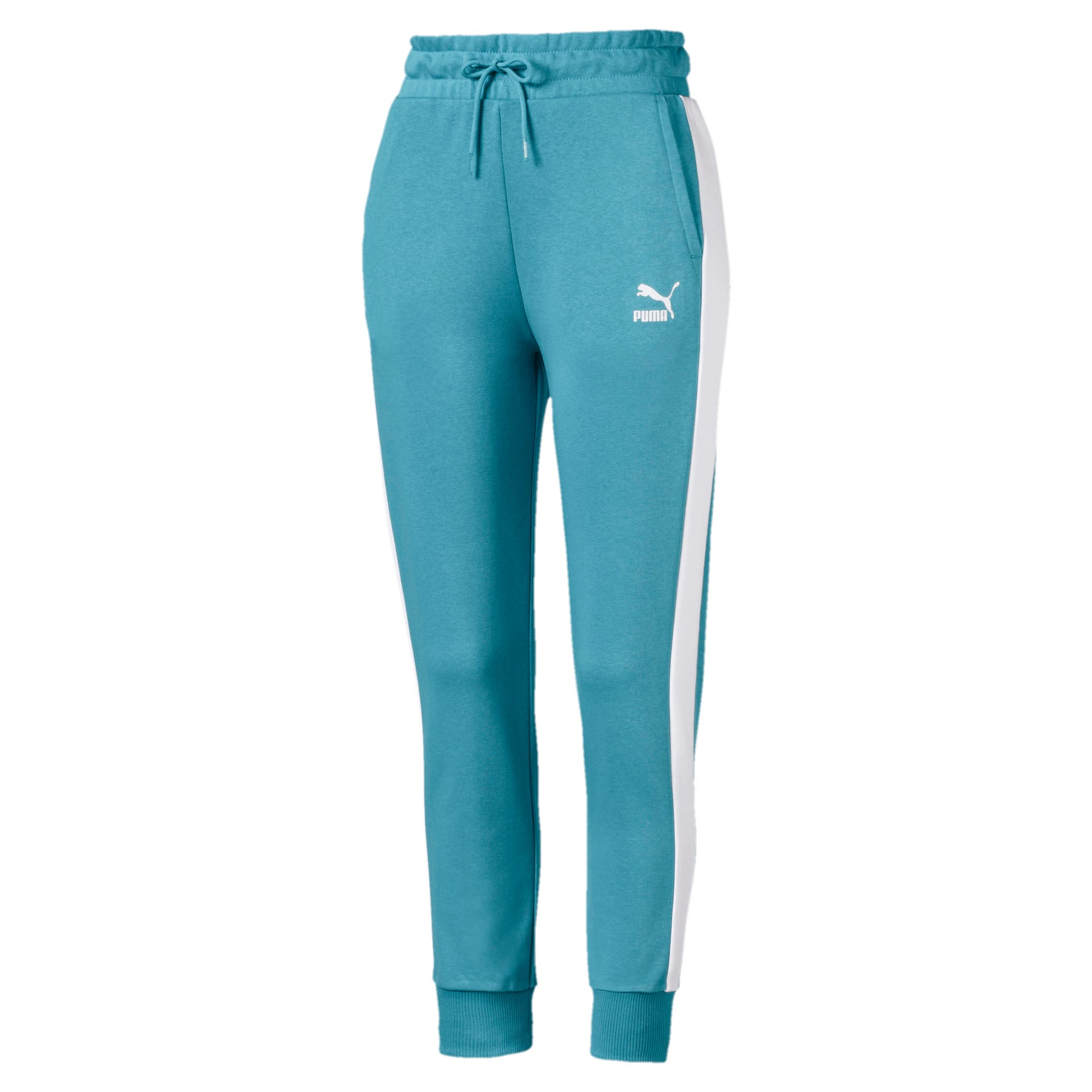 Thumbnail 1 of Classics T7 Knitted Women's Track Pants, Milky Blue, medium