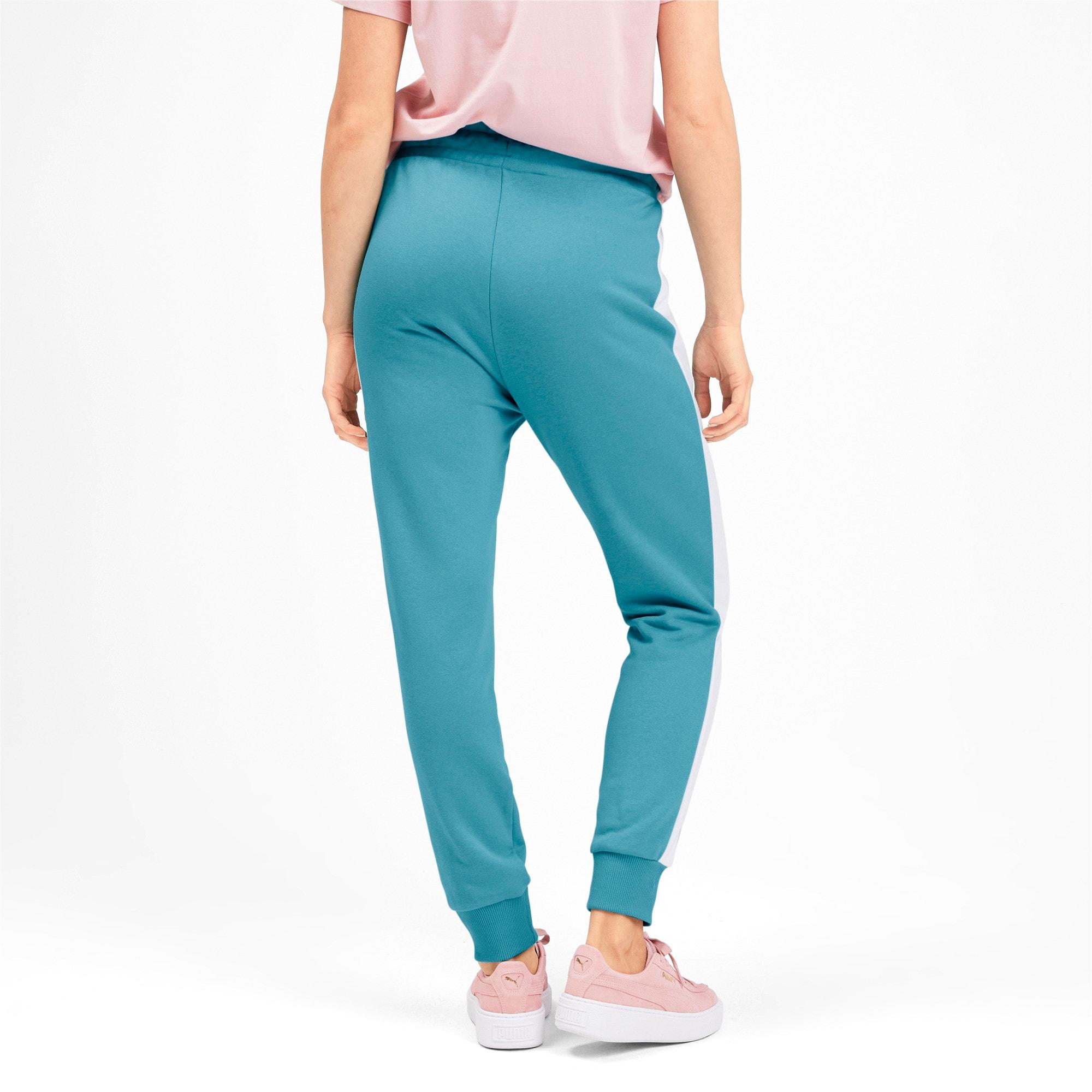 Thumbnail 3 of Pantalon de survêtement tricoté Classics T7 pour femme, Milky Blue, medium