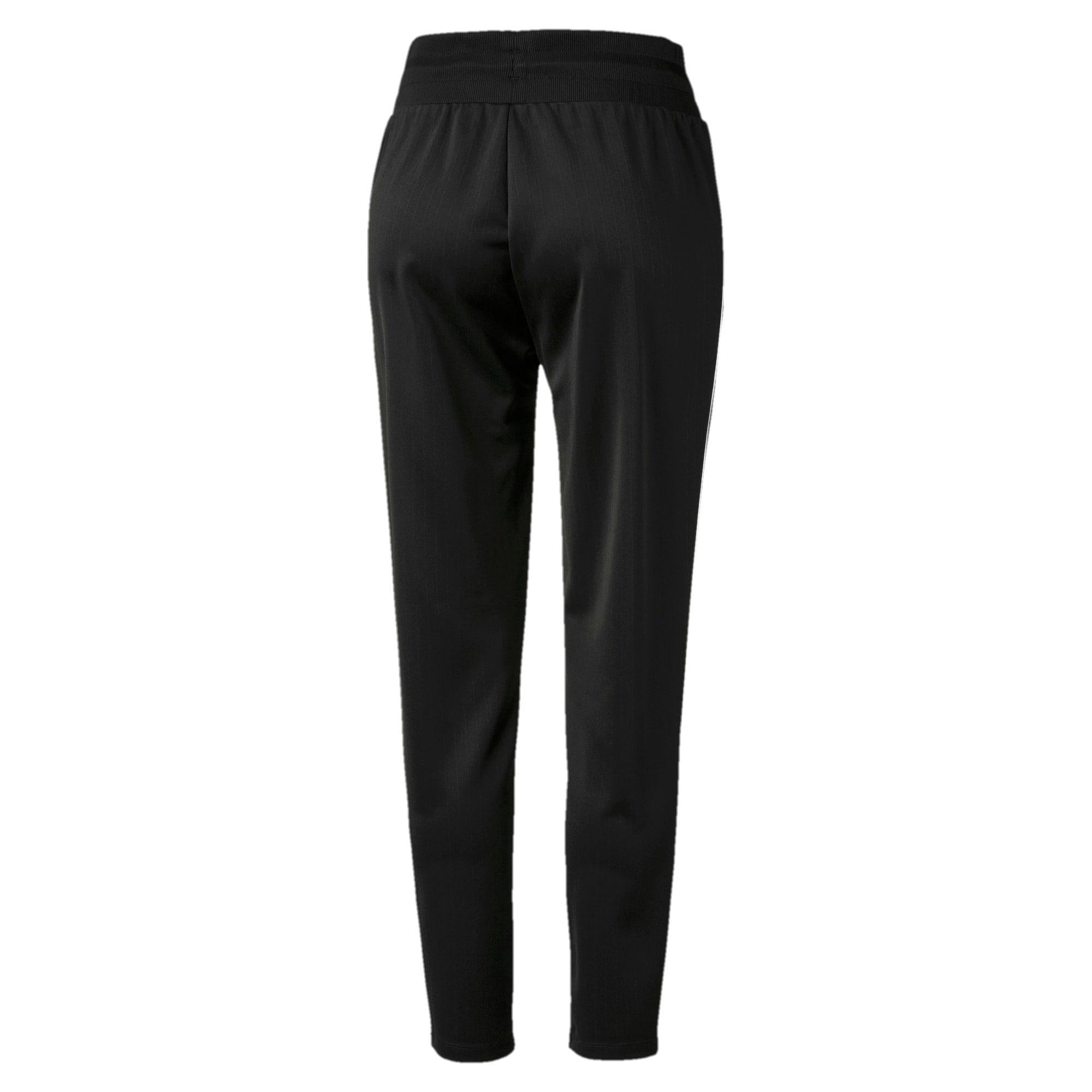 Thumbnail 5 of Classics Poly Knitted Women's Track Pants, Puma Black, medium