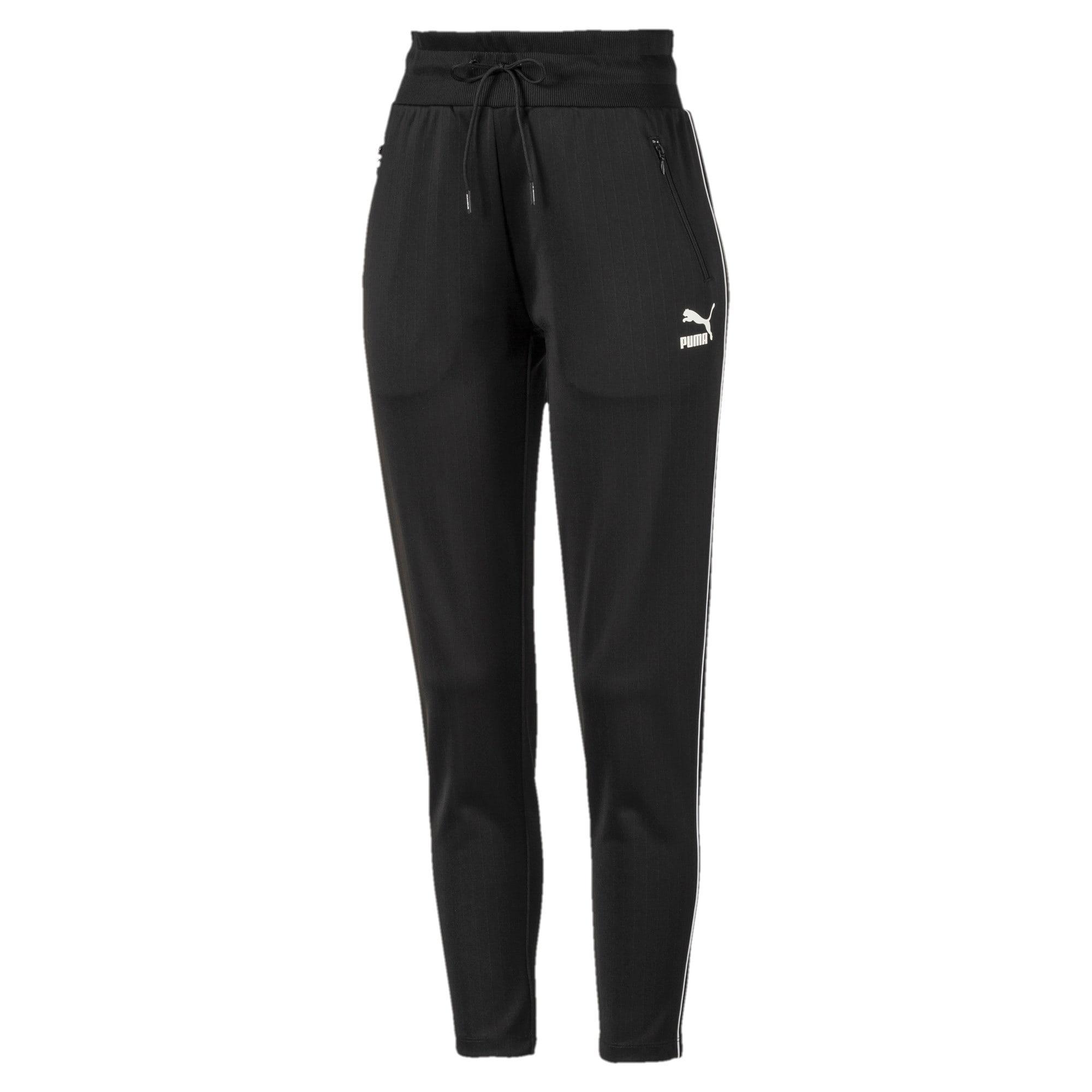 Thumbnail 1 of Classics Poly Knitted Women's Track Pants, Puma Black, medium