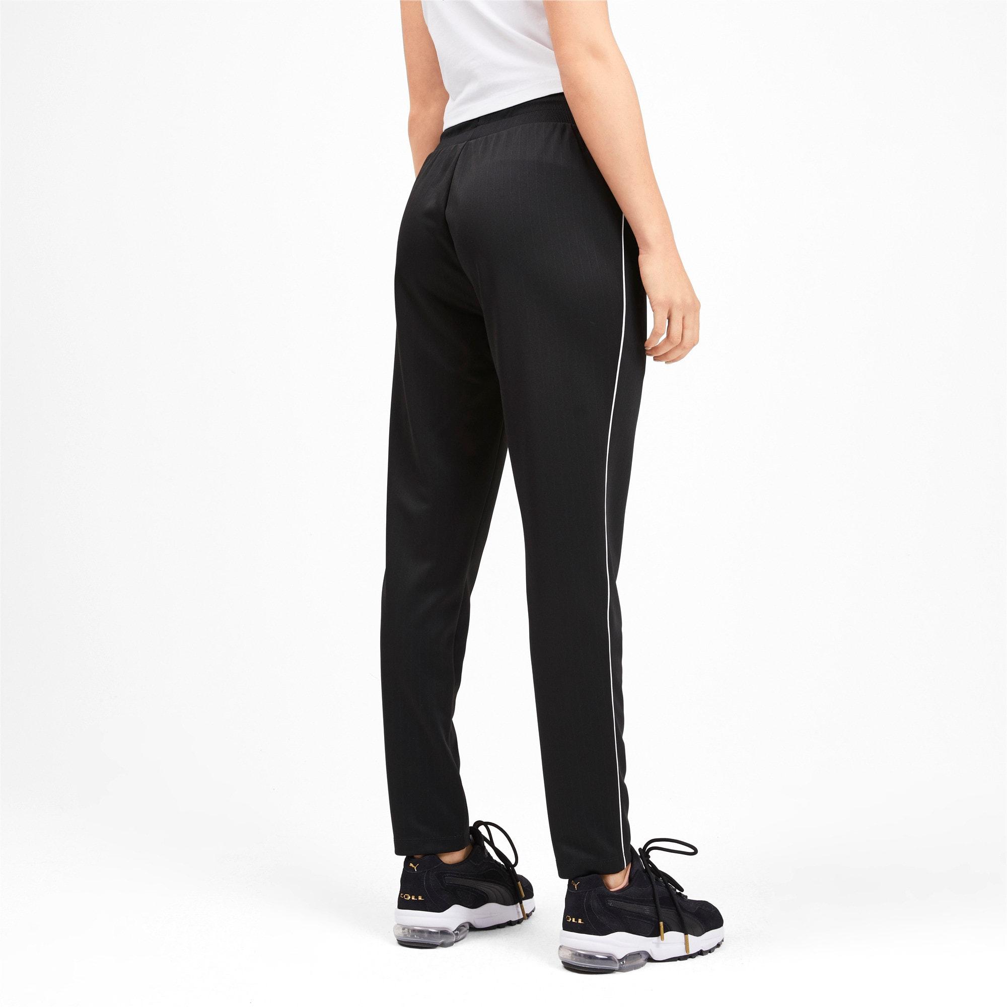 Thumbnail 3 of Classics Poly Knitted Women's Track Pants, Puma Black, medium