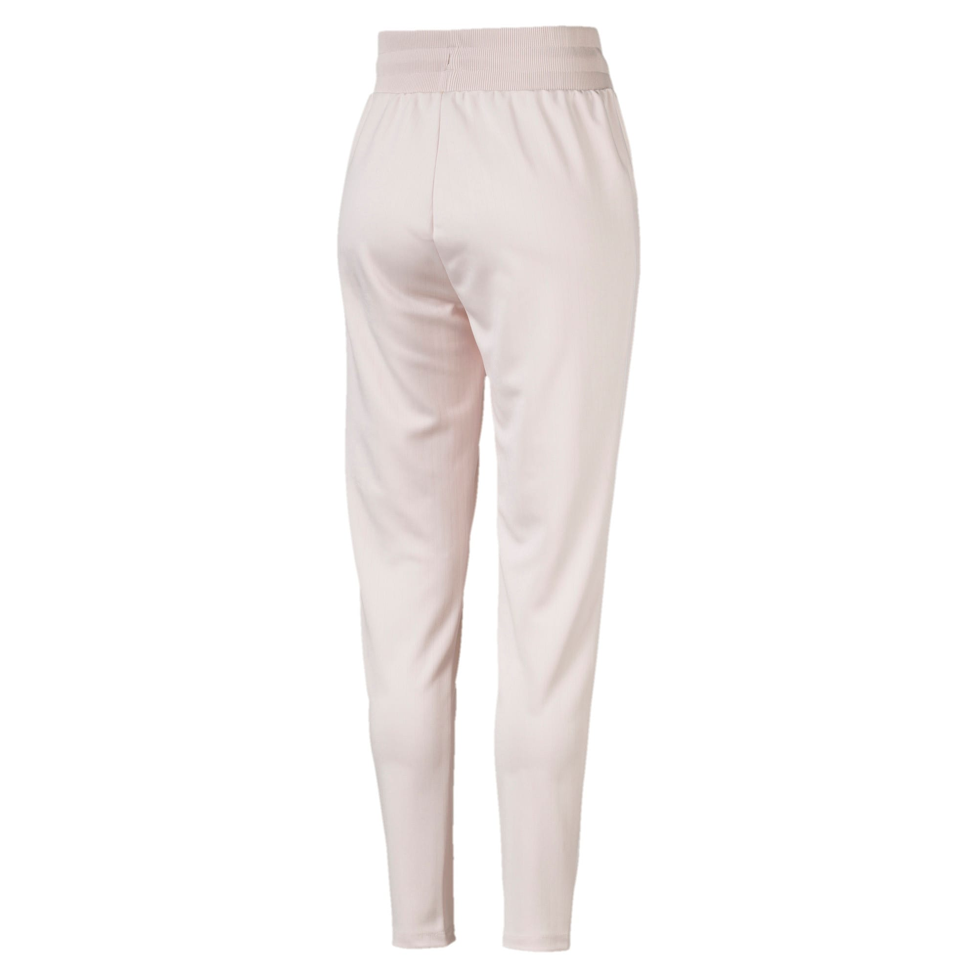 Thumbnail 4 of Classics Poly Knitted Women's Track Pants, Pastel Parchment, medium