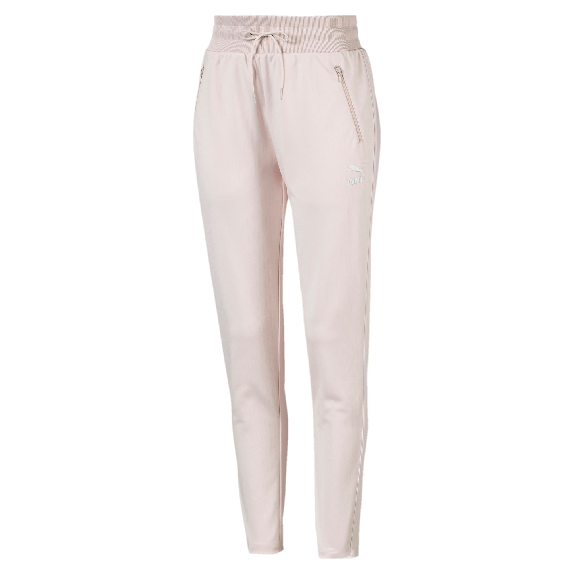 Thumbnail 3 of Classics Poly Knitted Women's Track Pants, Pastel Parchment, medium