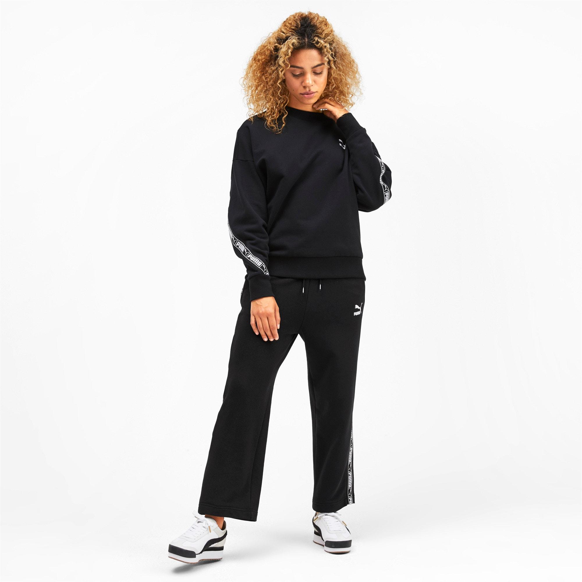 Thumbnail 4 of Classics Women's Track Pants, Puma Black, medium