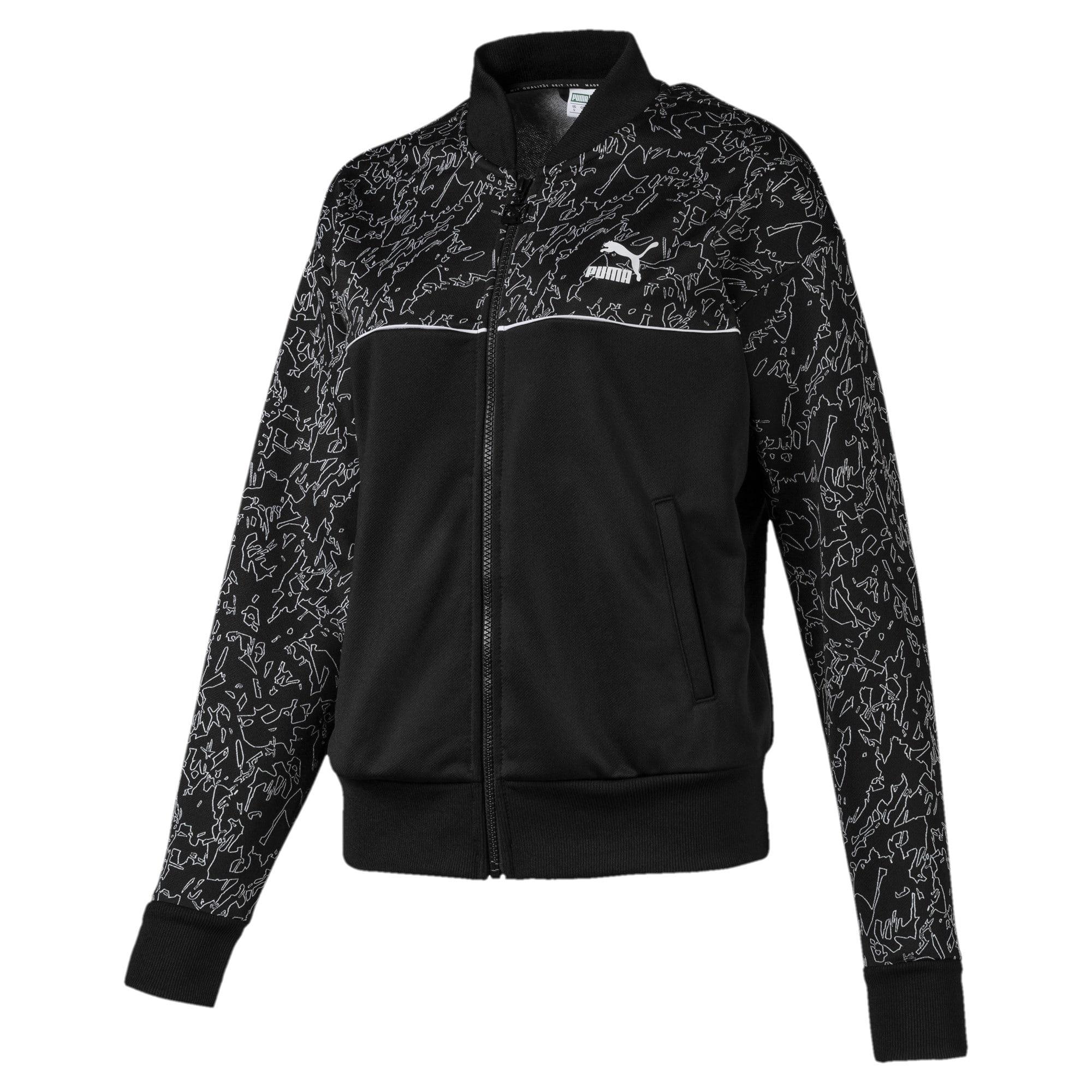 Thumbnail 1 of Full Zip Women's Track Jacket, Puma Black, medium