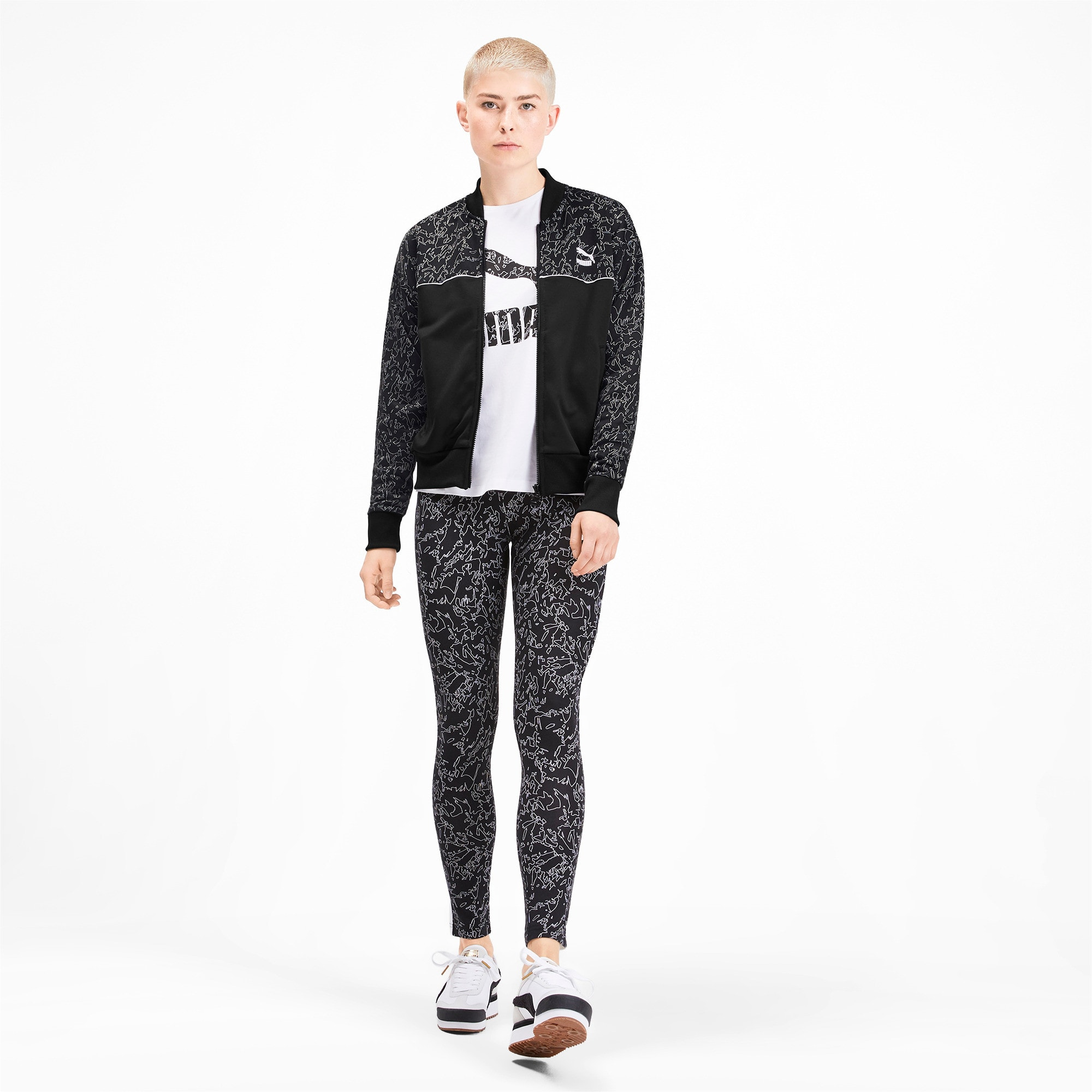 Thumbnail 4 of Full Zip Women's Track Jacket, Puma Black, medium