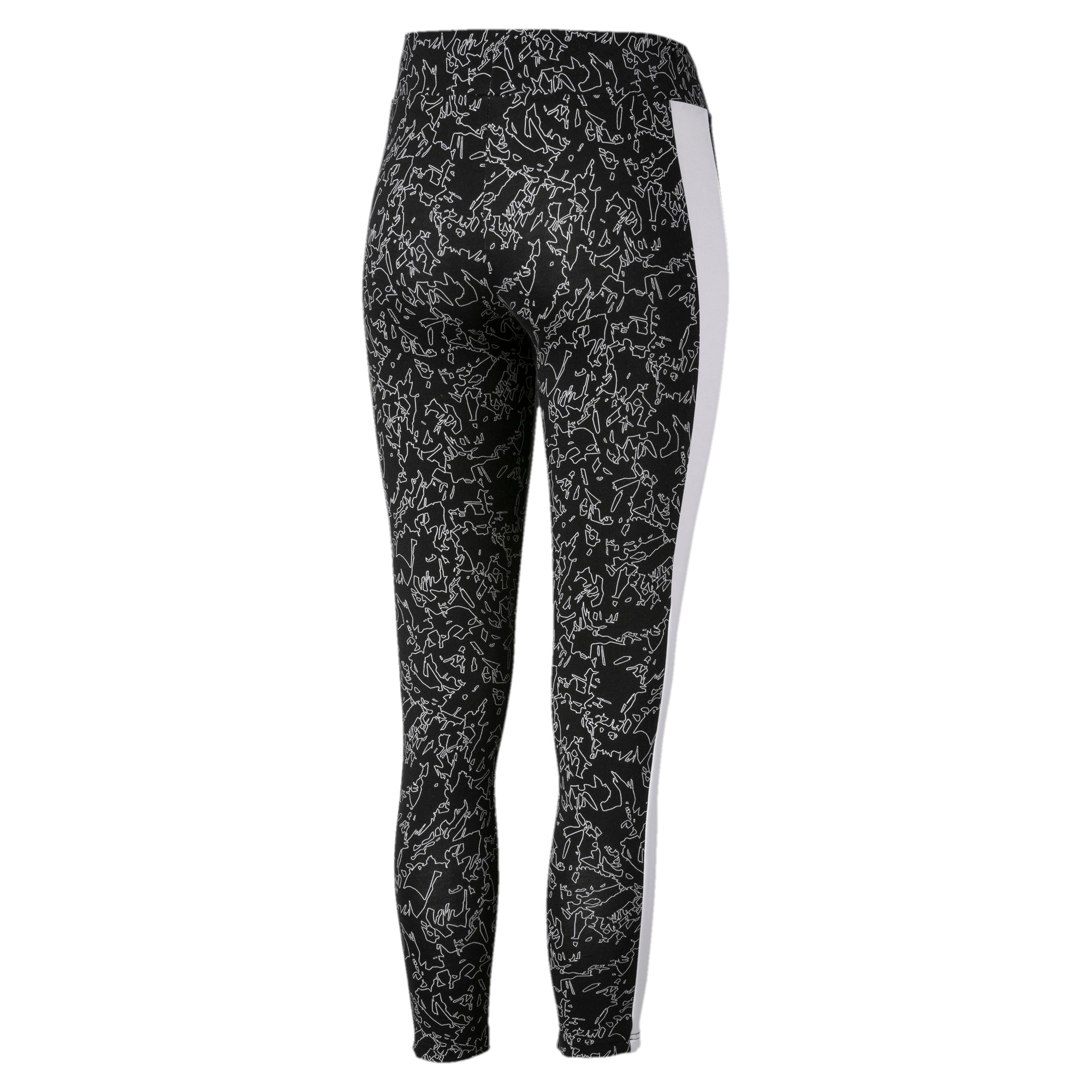 Thumbnail 5 of Classics T7 Women's Leggings, Puma Black, medium