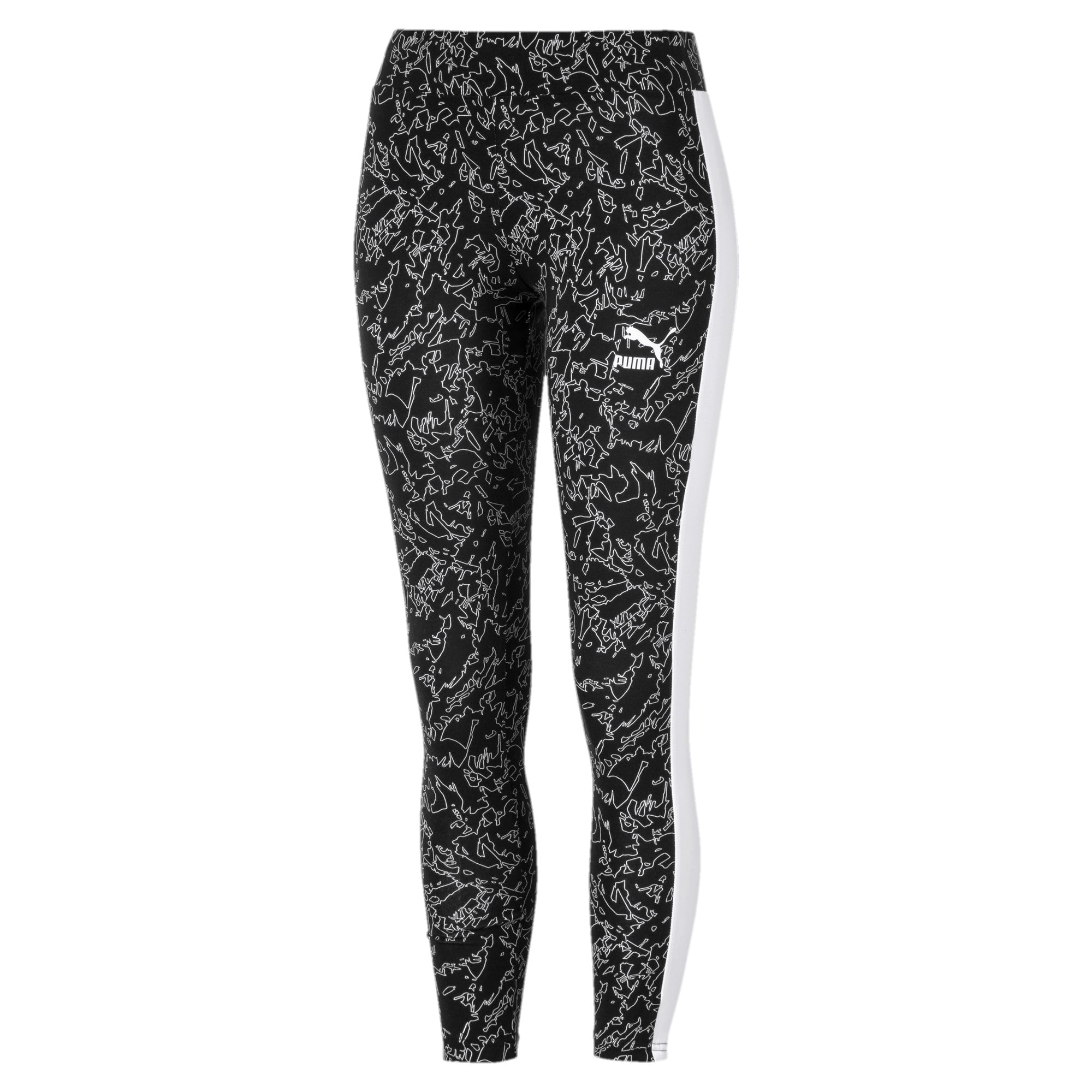 Thumbnail 4 of Classics T7 Women's Leggings, Puma Black, medium