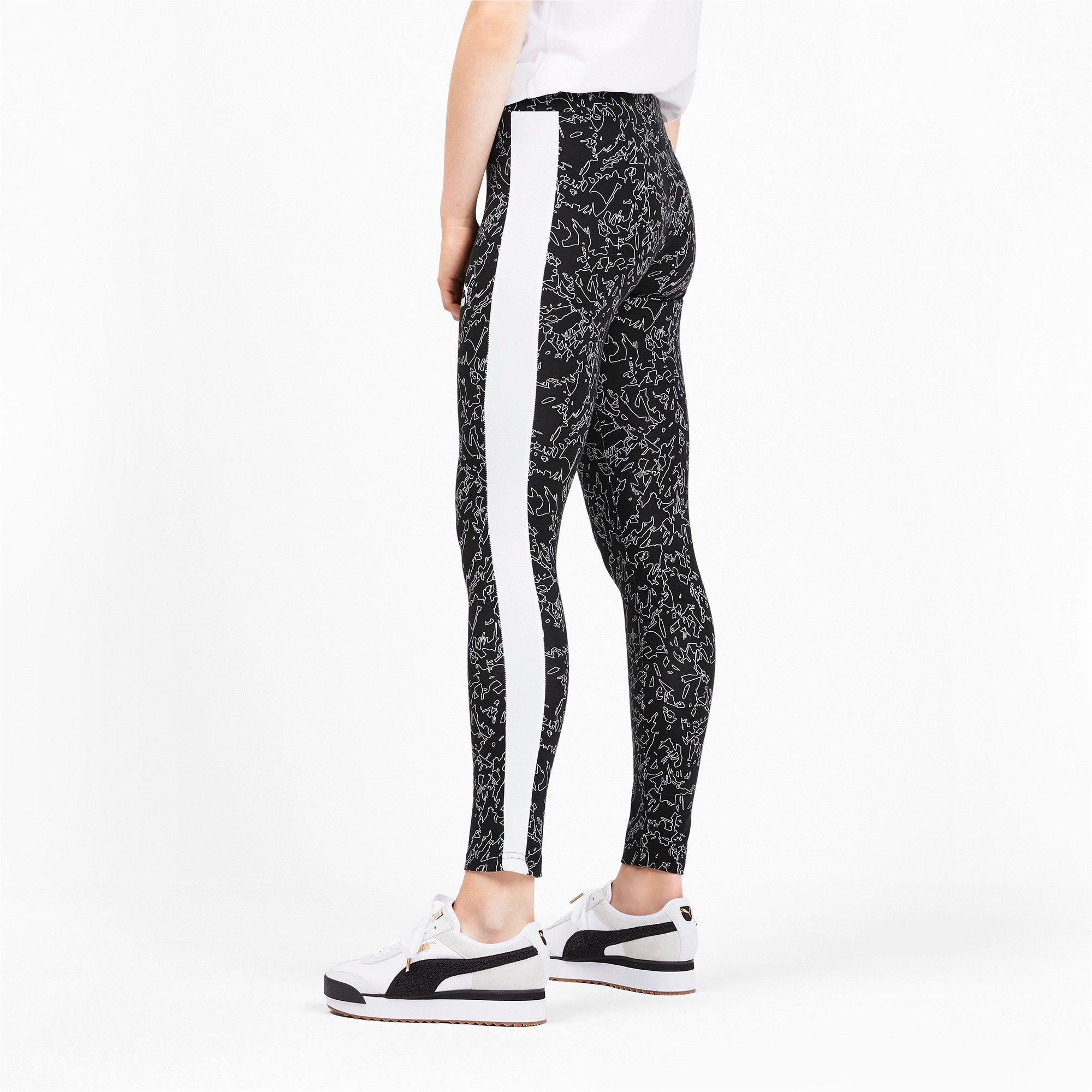 Thumbnail 2 of Classics T7 Women's Leggings, Puma Black, medium