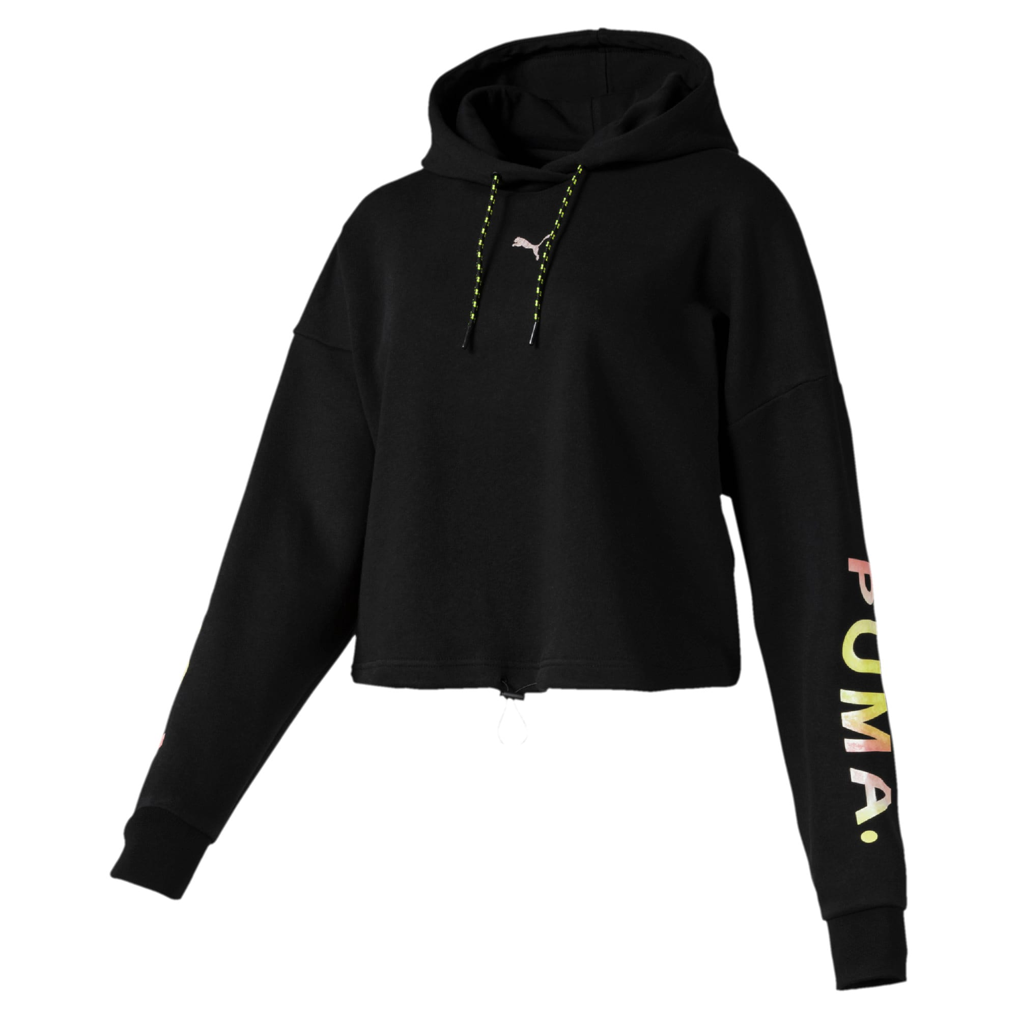vente officielle design intemporel Braderie Sweat à capuche court Chase pour femme