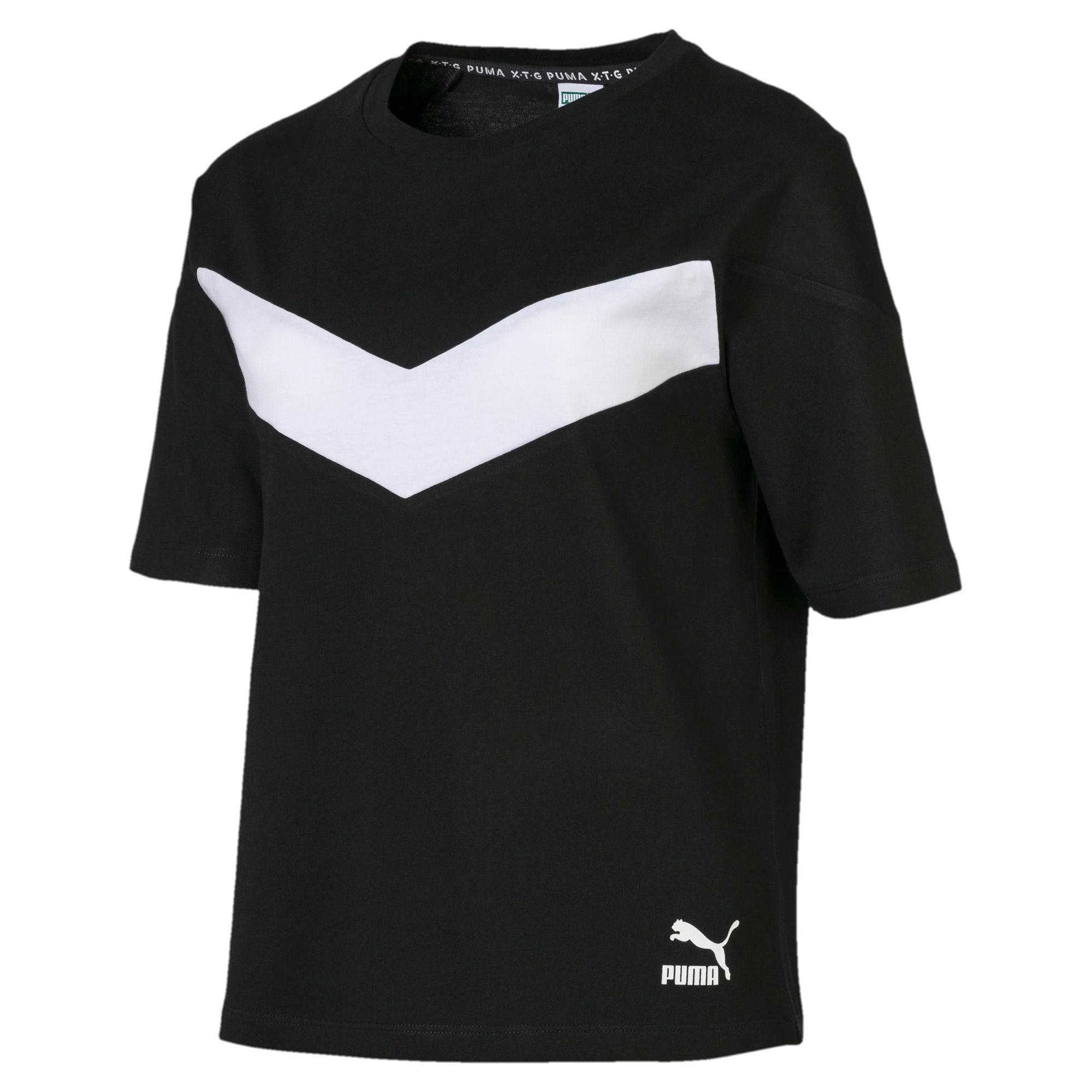 Miniatura 4 de Camiseta PUMA XTG en colores combinados para mujer, Puma Black, mediano