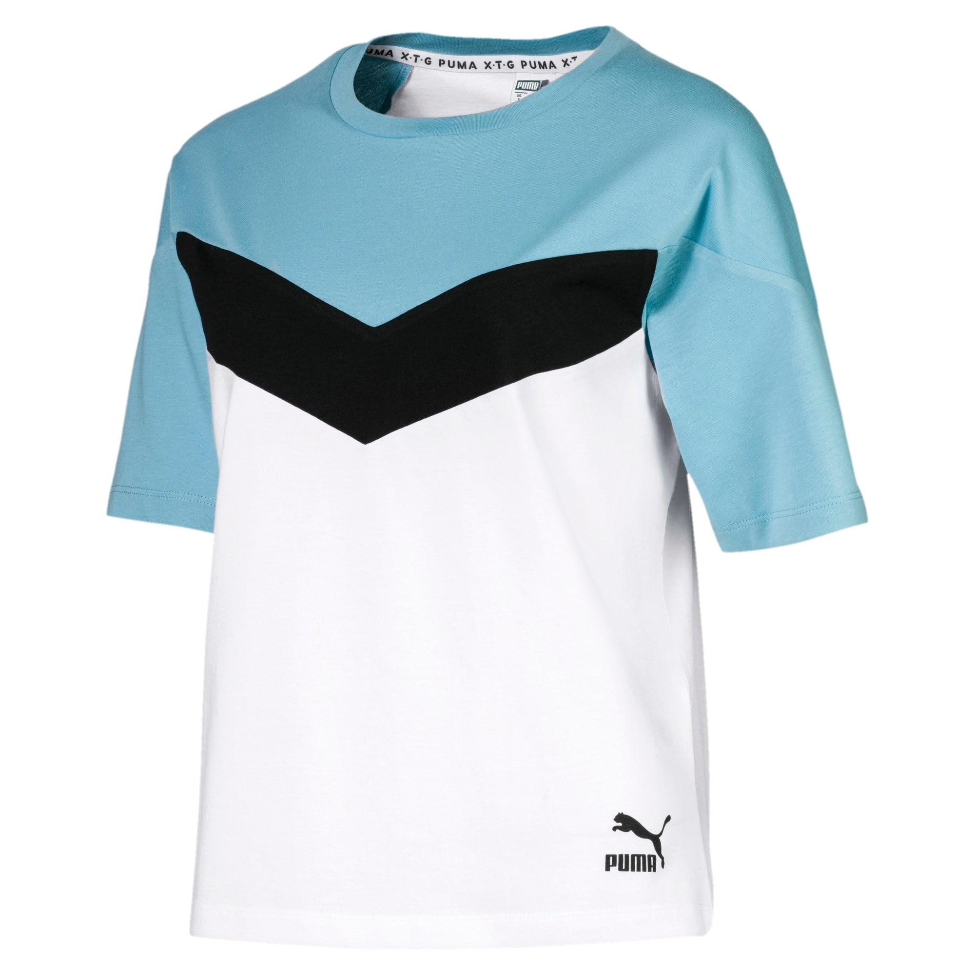 Miniatura 4 de Camiseta PUMA XTG en colores combinados para mujer, Puma White, mediano
