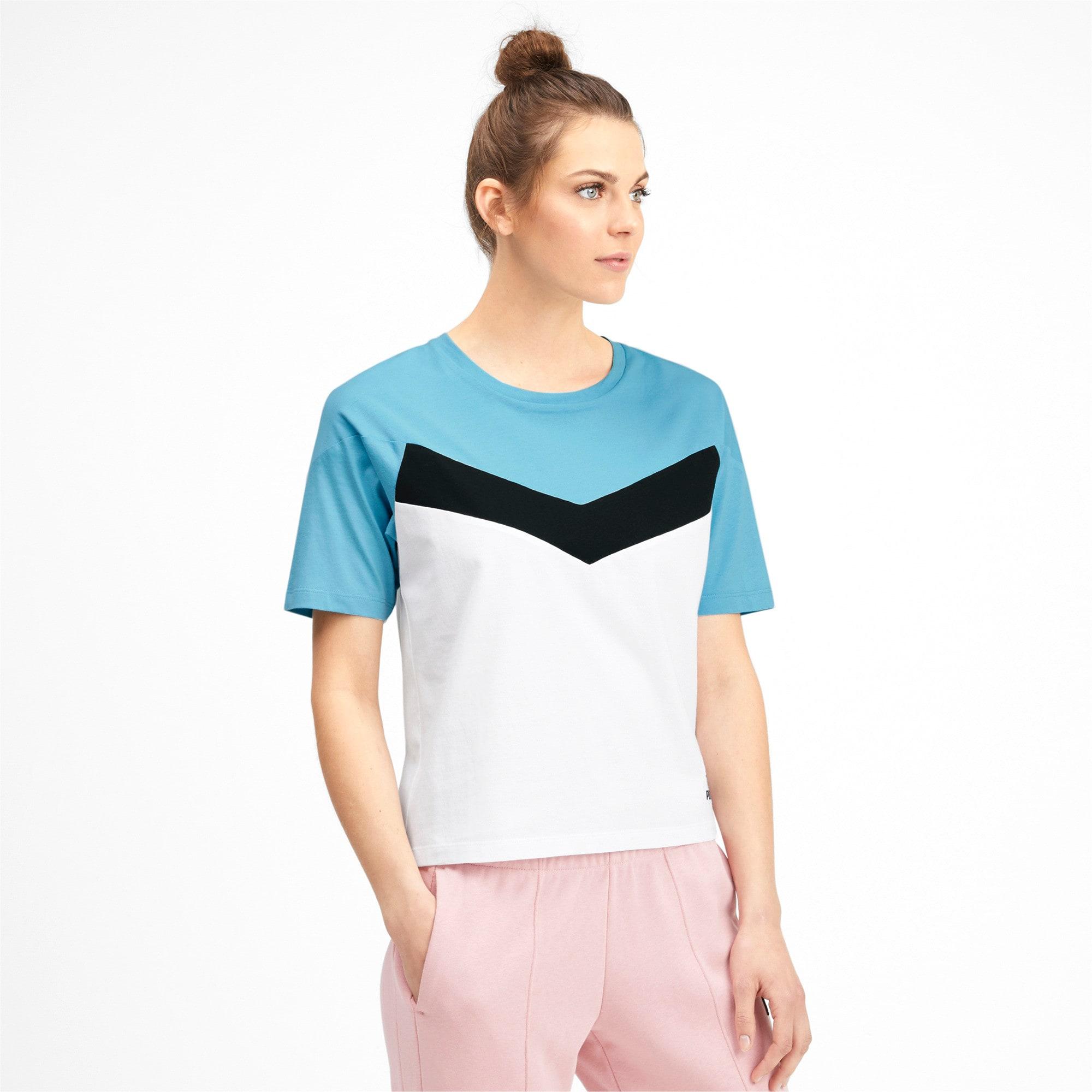 Miniatura 1 de Camiseta PUMA XTG en colores combinados para mujer, Puma White, mediano