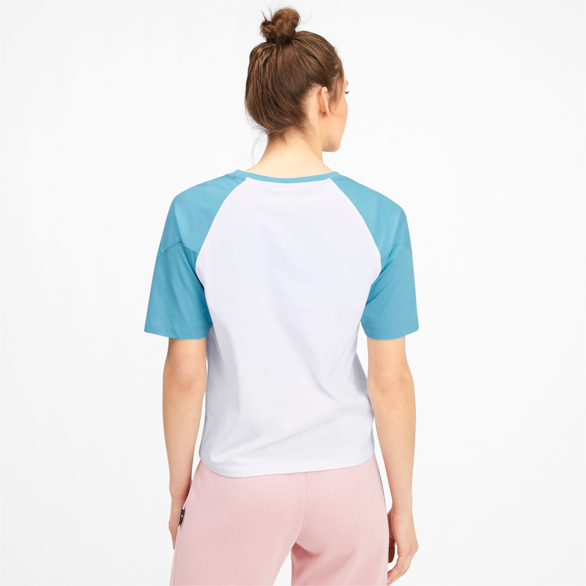 Miniatura 2 de Camiseta PUMA XTG en colores combinados para mujer, Puma White, mediano