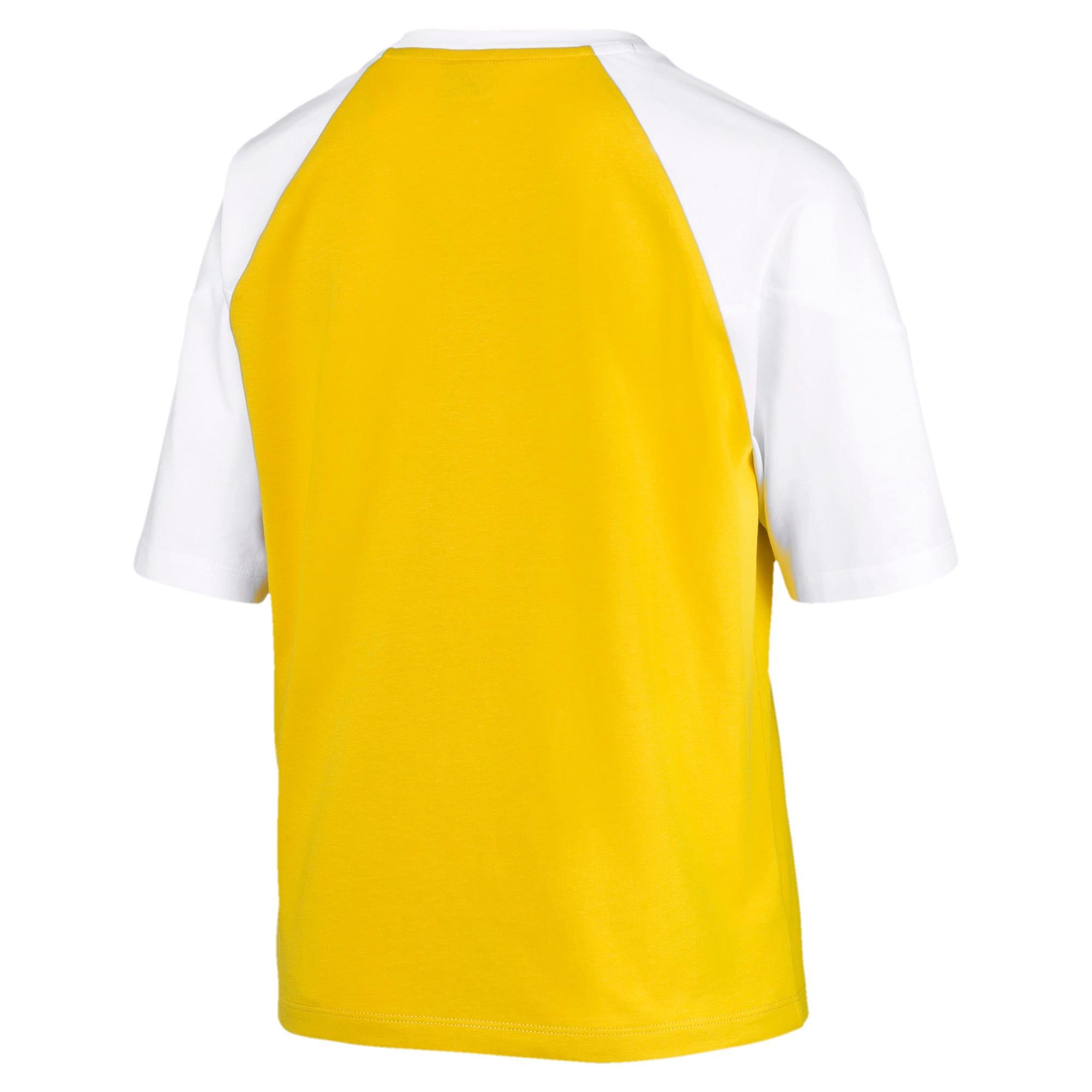Miniatura 5 de Camiseta PUMA XTG en colores combinados para mujer, Sulphur, mediano