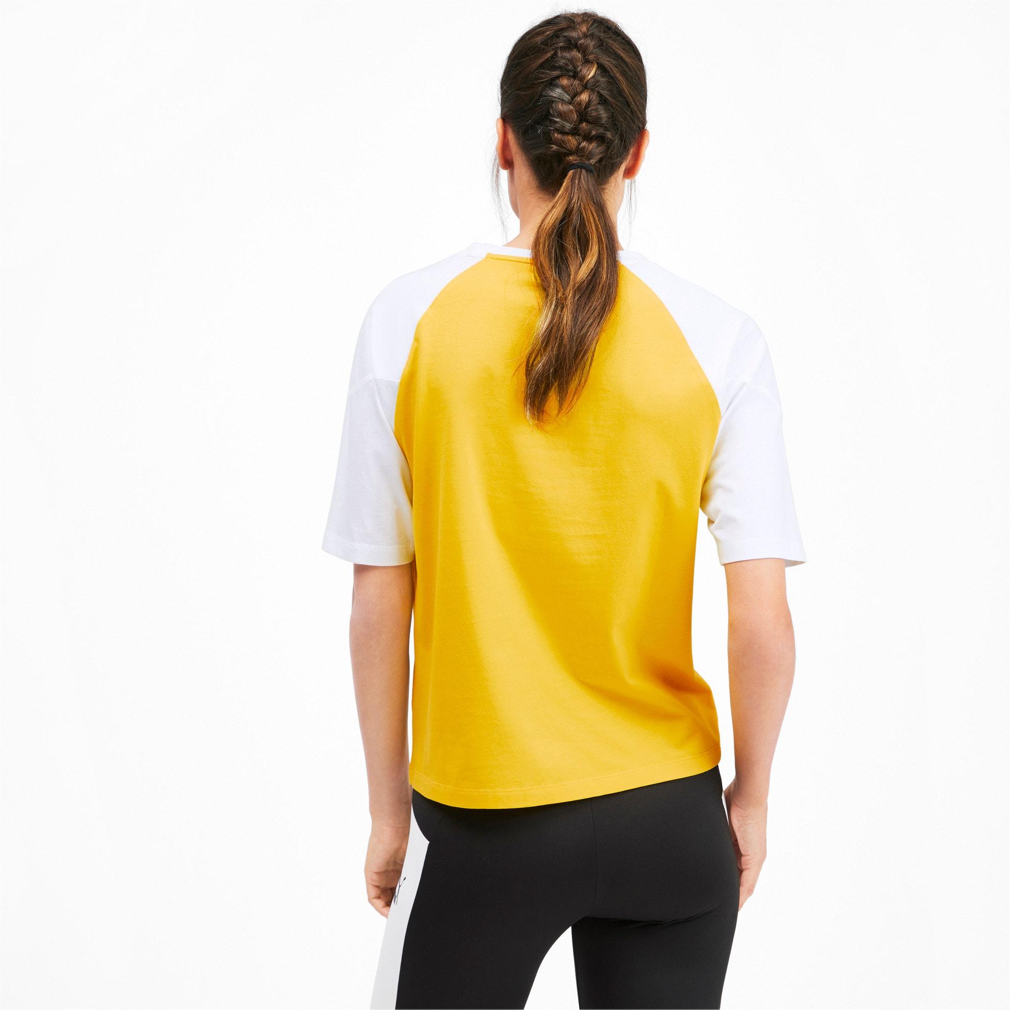 Miniatura 3 de Camiseta PUMA XTG en colores combinados para mujer, Sulphur, mediano