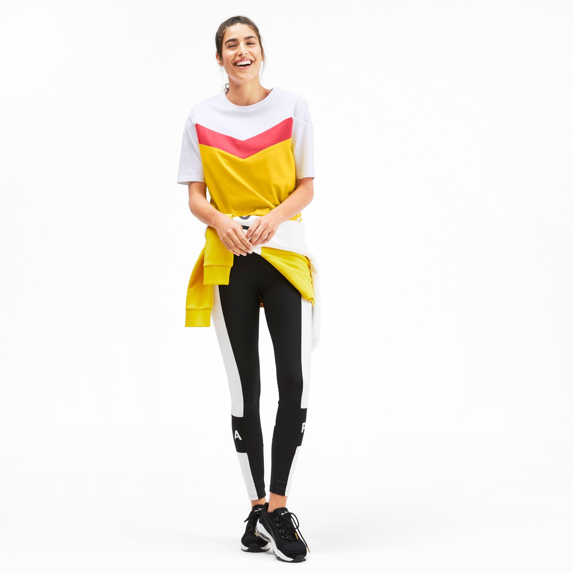 Miniatura 4 de Camiseta PUMA XTG en colores combinados para mujer, Sulphur, mediano