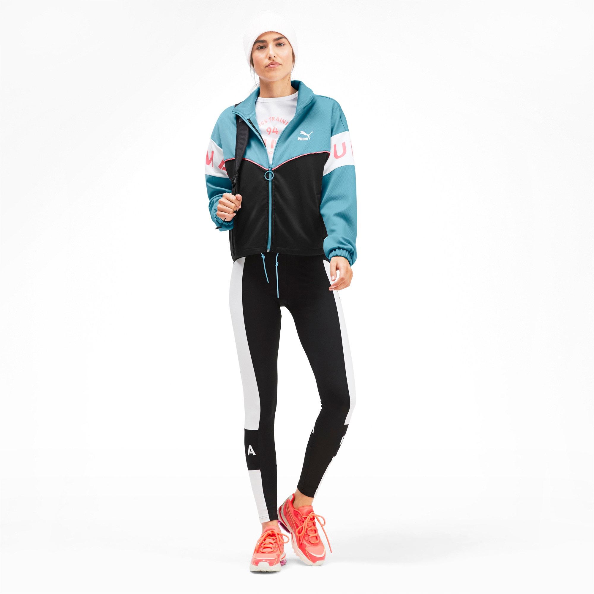 Miniatura 3 de Chaqueta deportiva PUMA XTG para mujer, Milky Blue, mediano