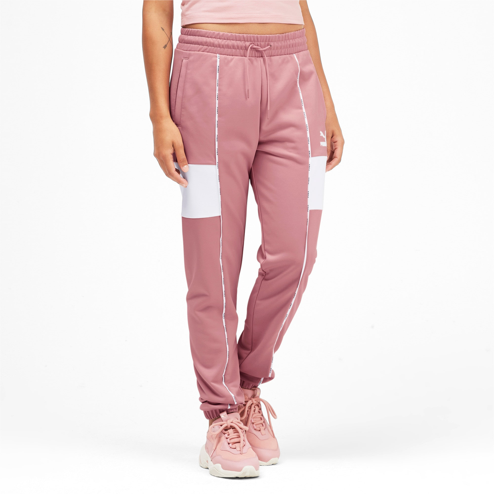 Miniatura 2 de Pantalones deportivos PUMA XTG para mujer, Bridal Rose, mediano