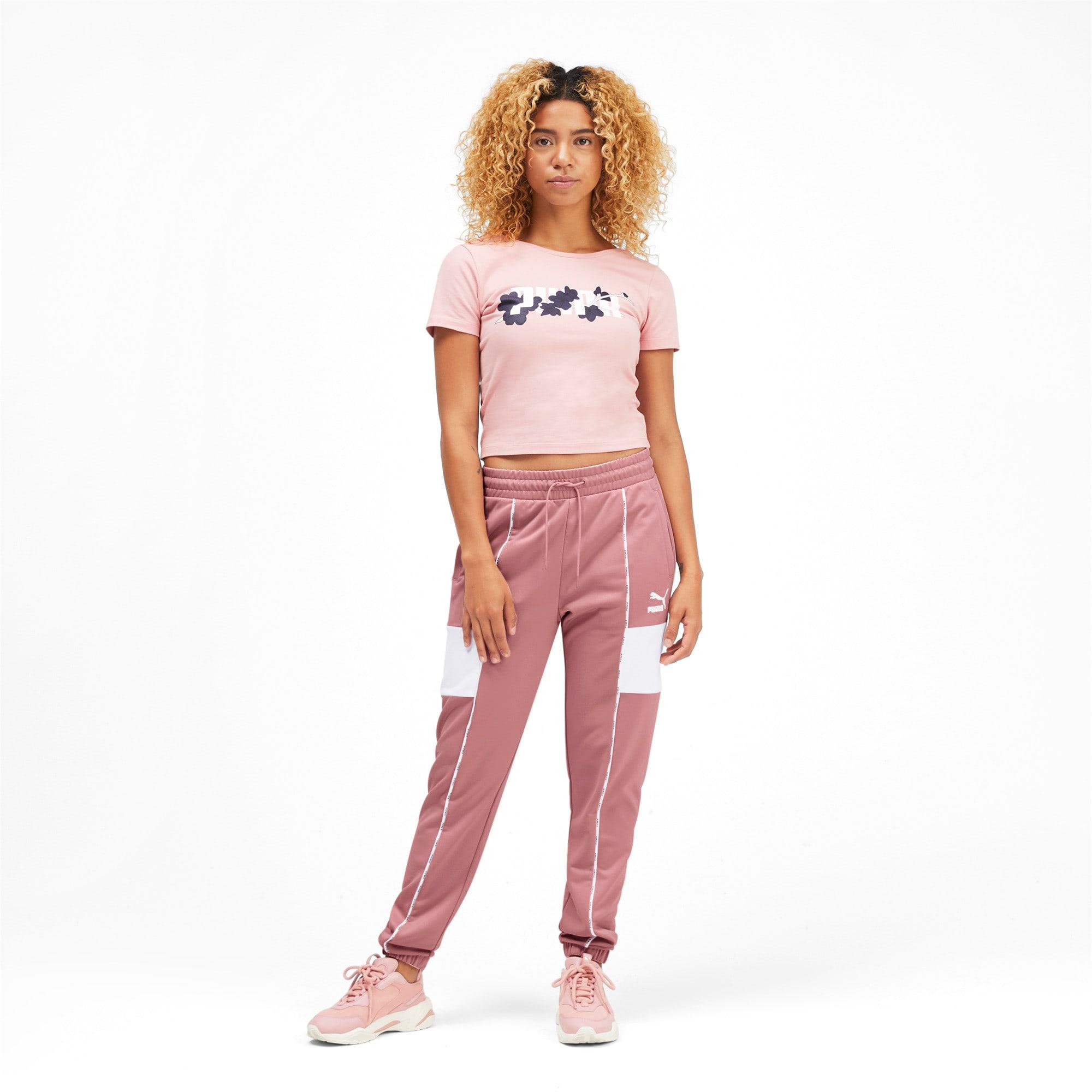 Miniatura 4 de Pantalones deportivos PUMA XTG para mujer, Bridal Rose, mediano