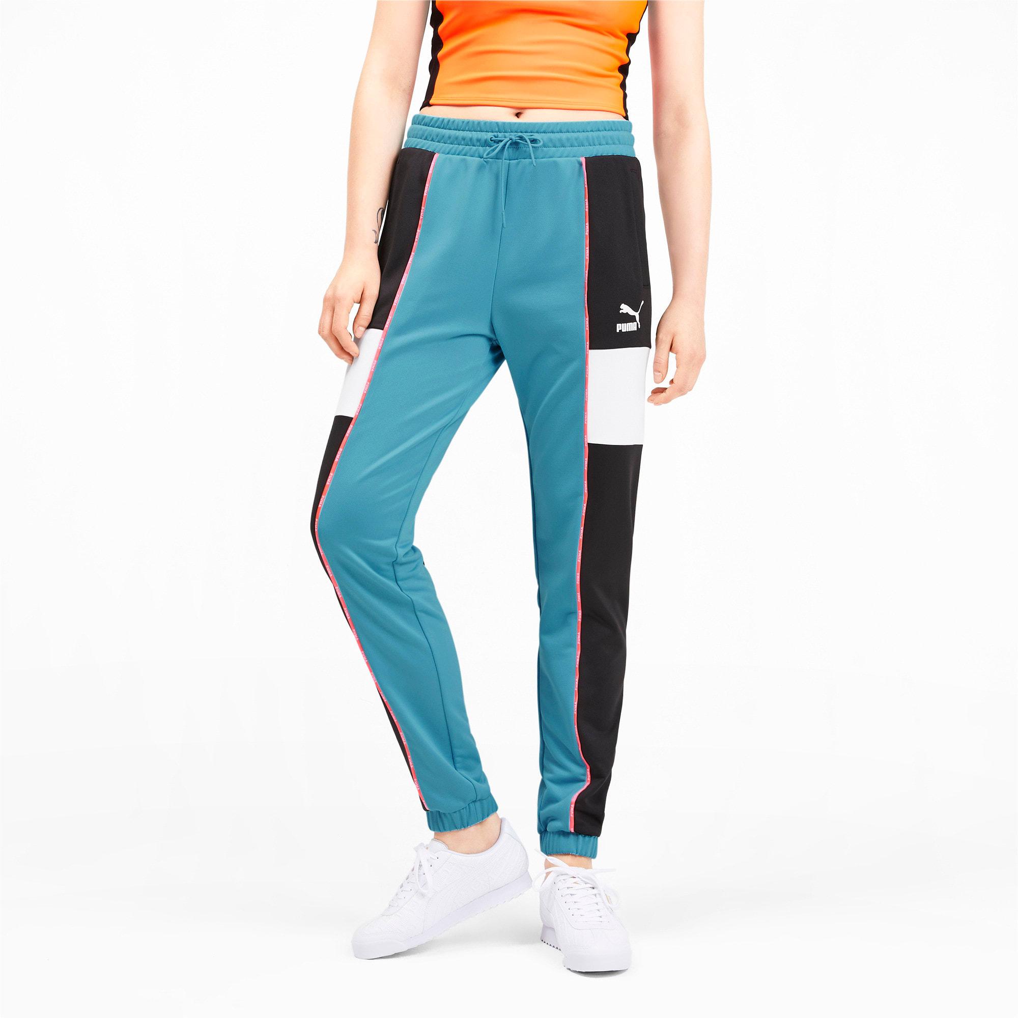 Miniatura 1 de Pantalones deportivos PUMA XTG para mujer, Milky Blue, mediano