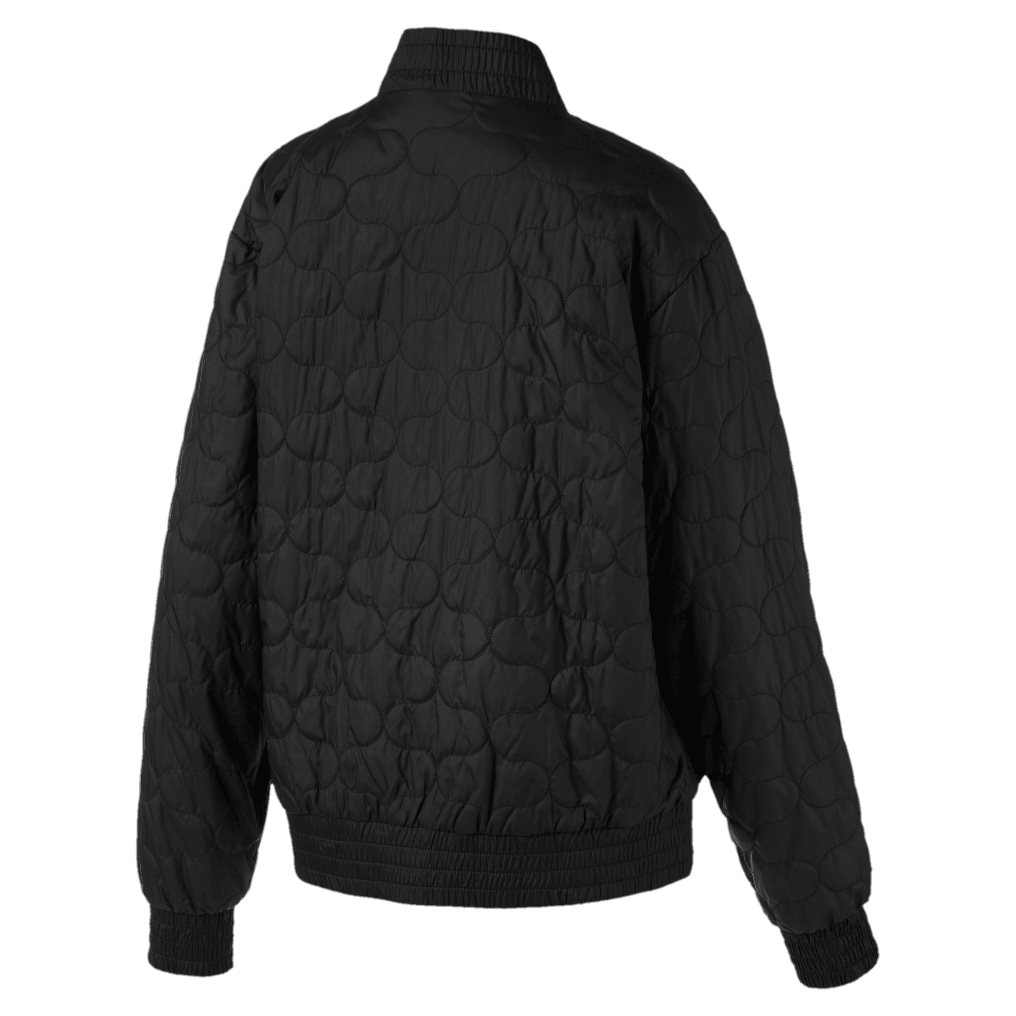 Thumbnail 5 of Woven Women's Bomber Jacket, Puma Black, medium