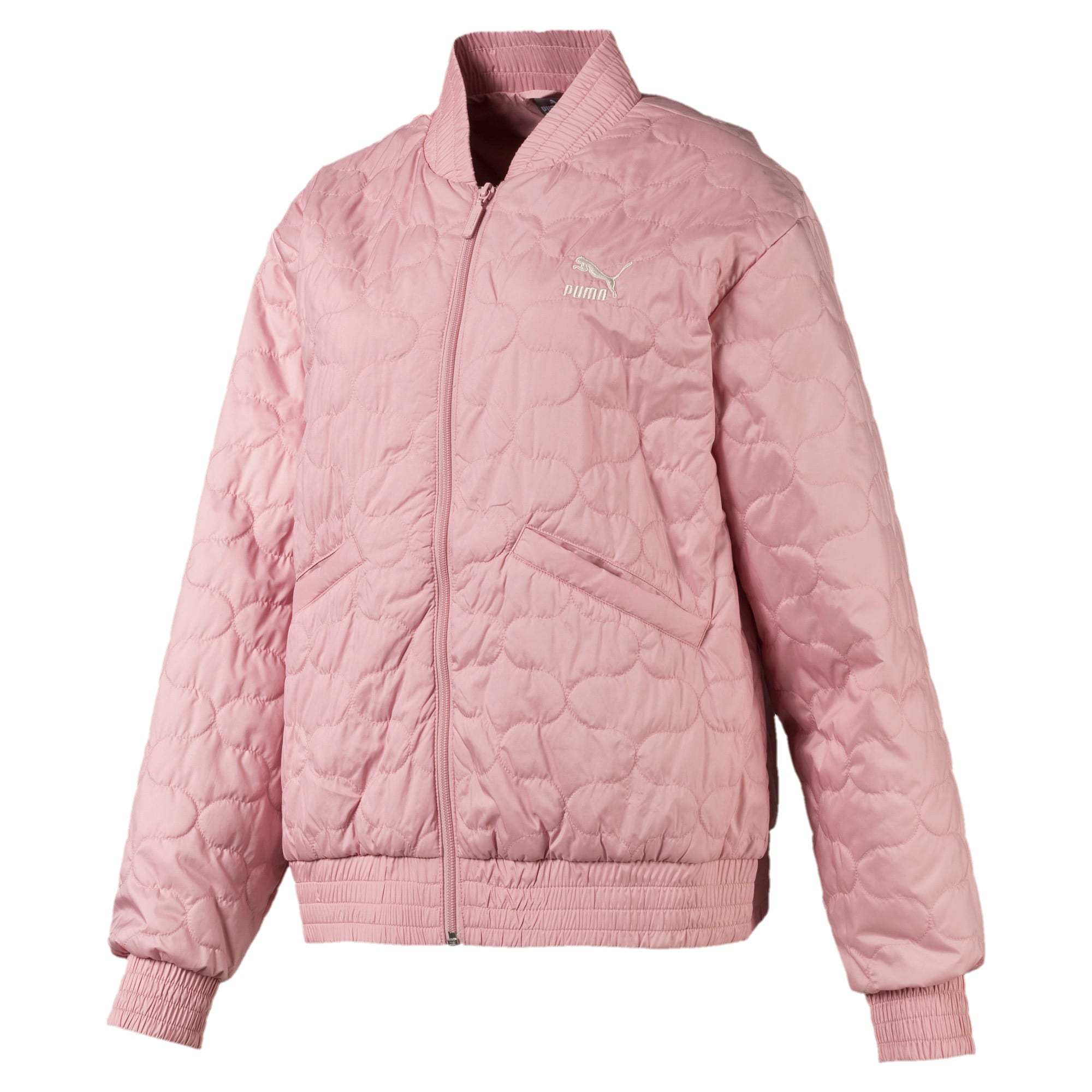 Thumbnail 1 of Woven Women's Bomber Jacket, Bridal Rose, medium