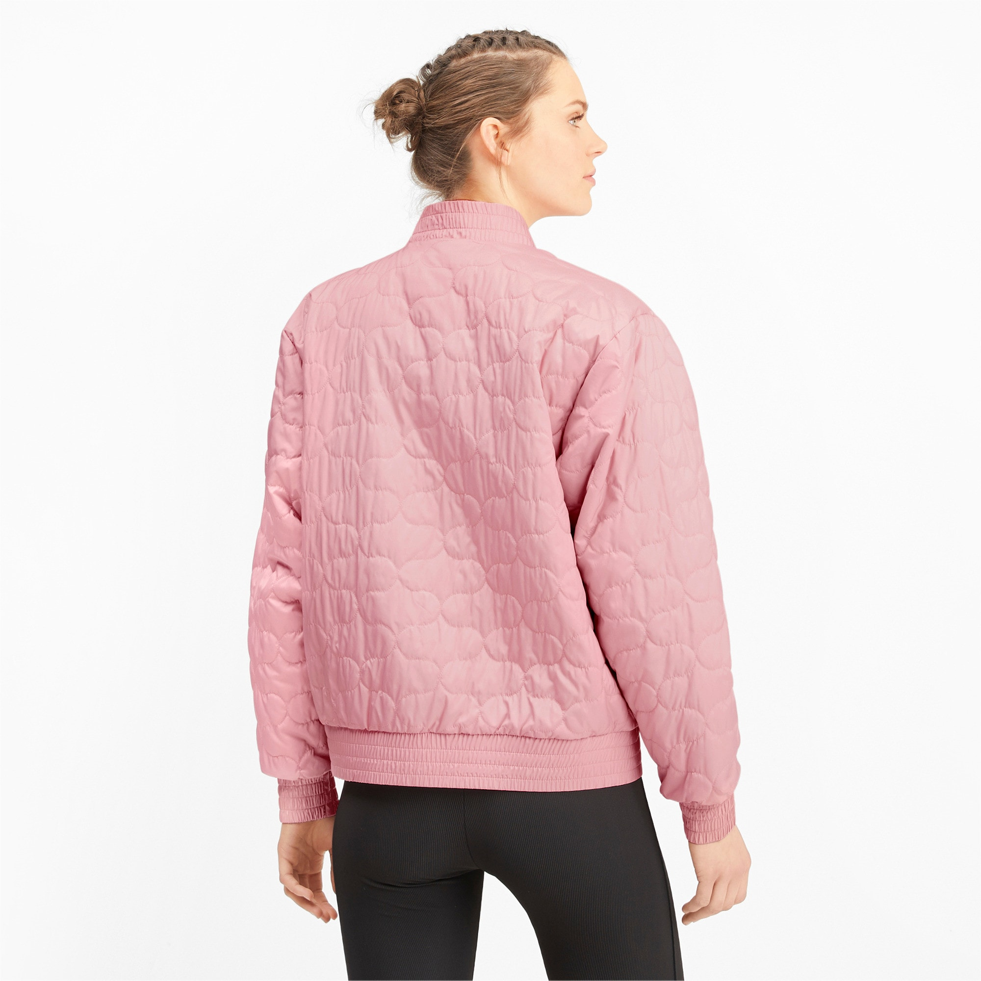 Thumbnail 3 of Woven Women's Bomber Jacket, Bridal Rose, medium