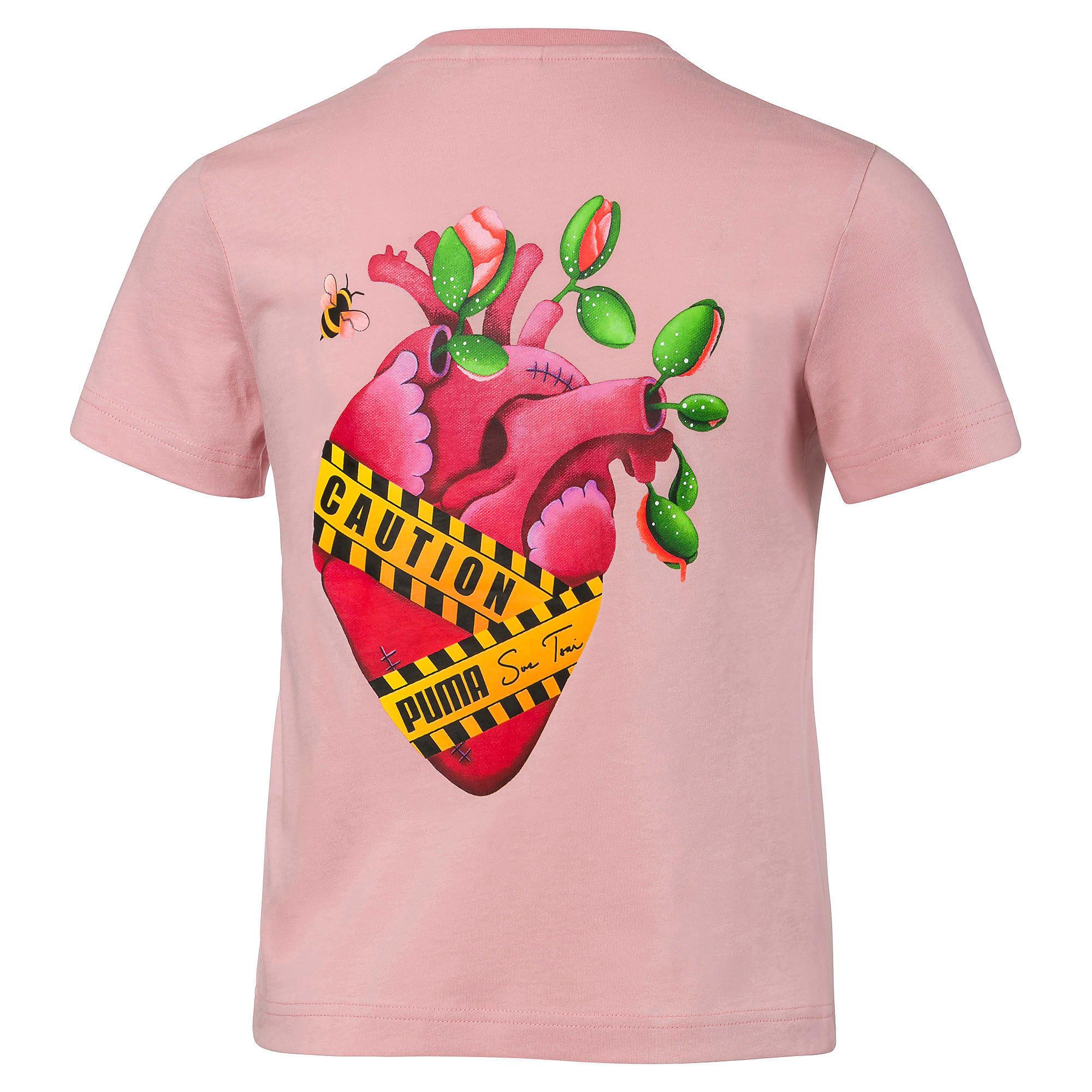 Thumbnail 3 of PUMA x SUE TSAI ウィメンズ Tシャツ, Bridal Rose, medium-JPN