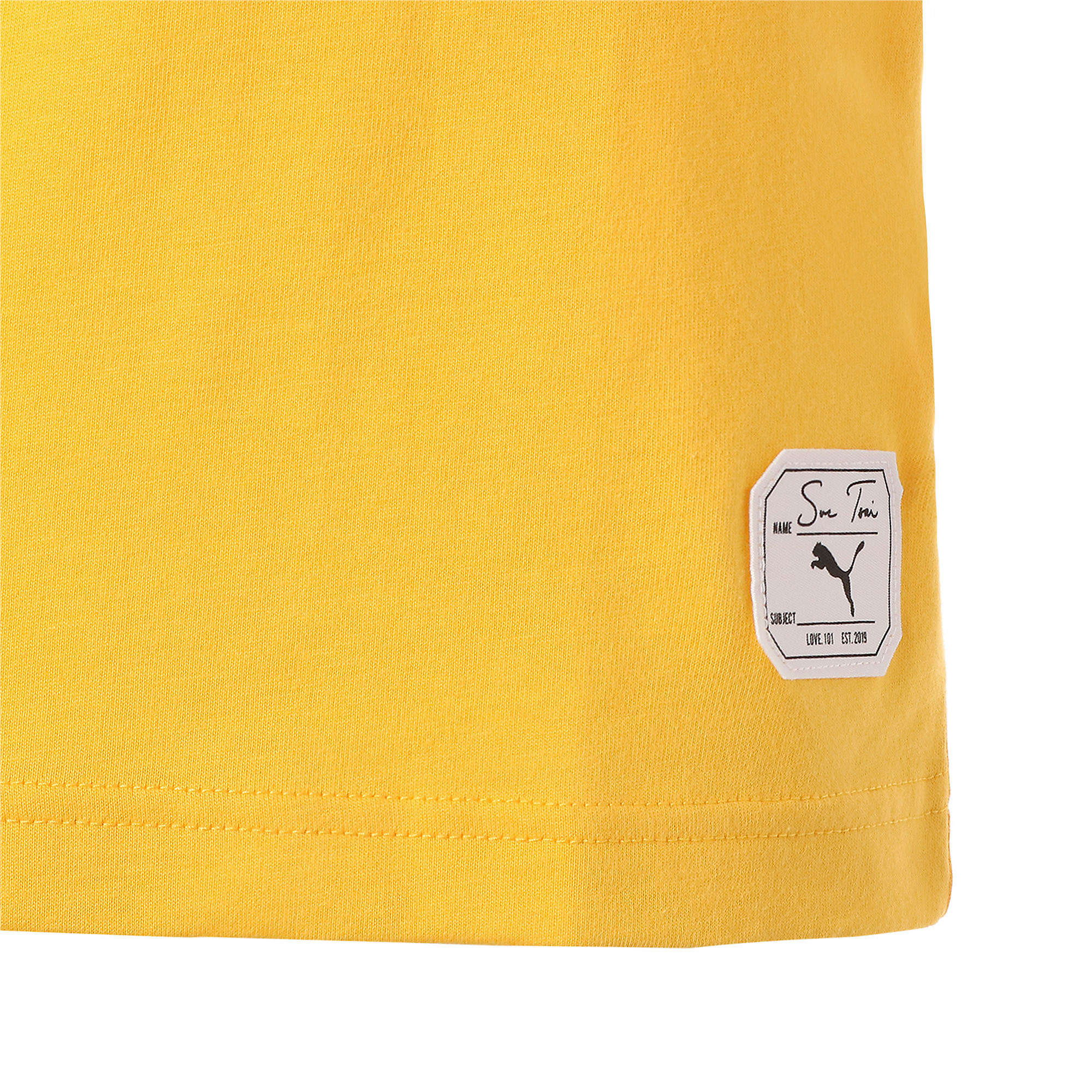 Thumbnail 6 of PUMA x SUE TSAI ウィメンズ Tシャツ, Daffodil, medium-JPN