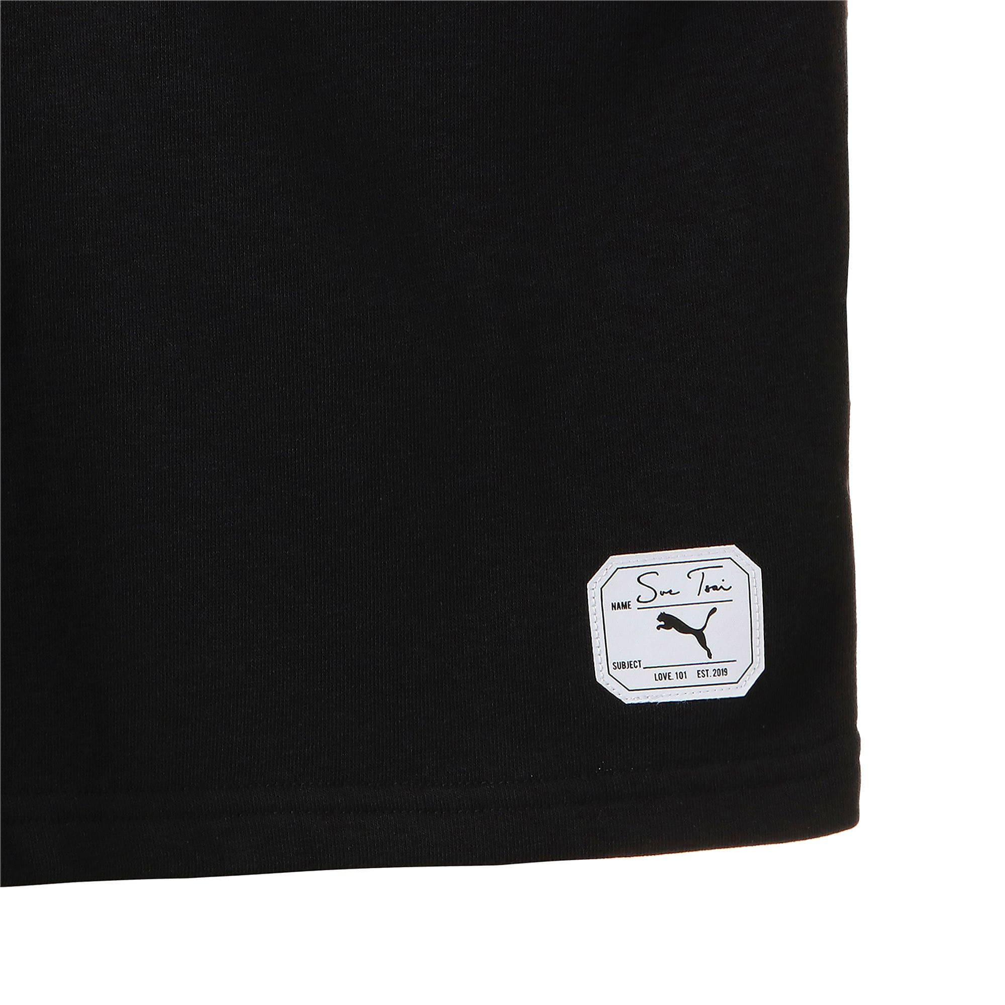 Thumbnail 6 of PUMA x SUE TSAI ウィメンズ Vネック セーター, Puma Black, medium-JPN