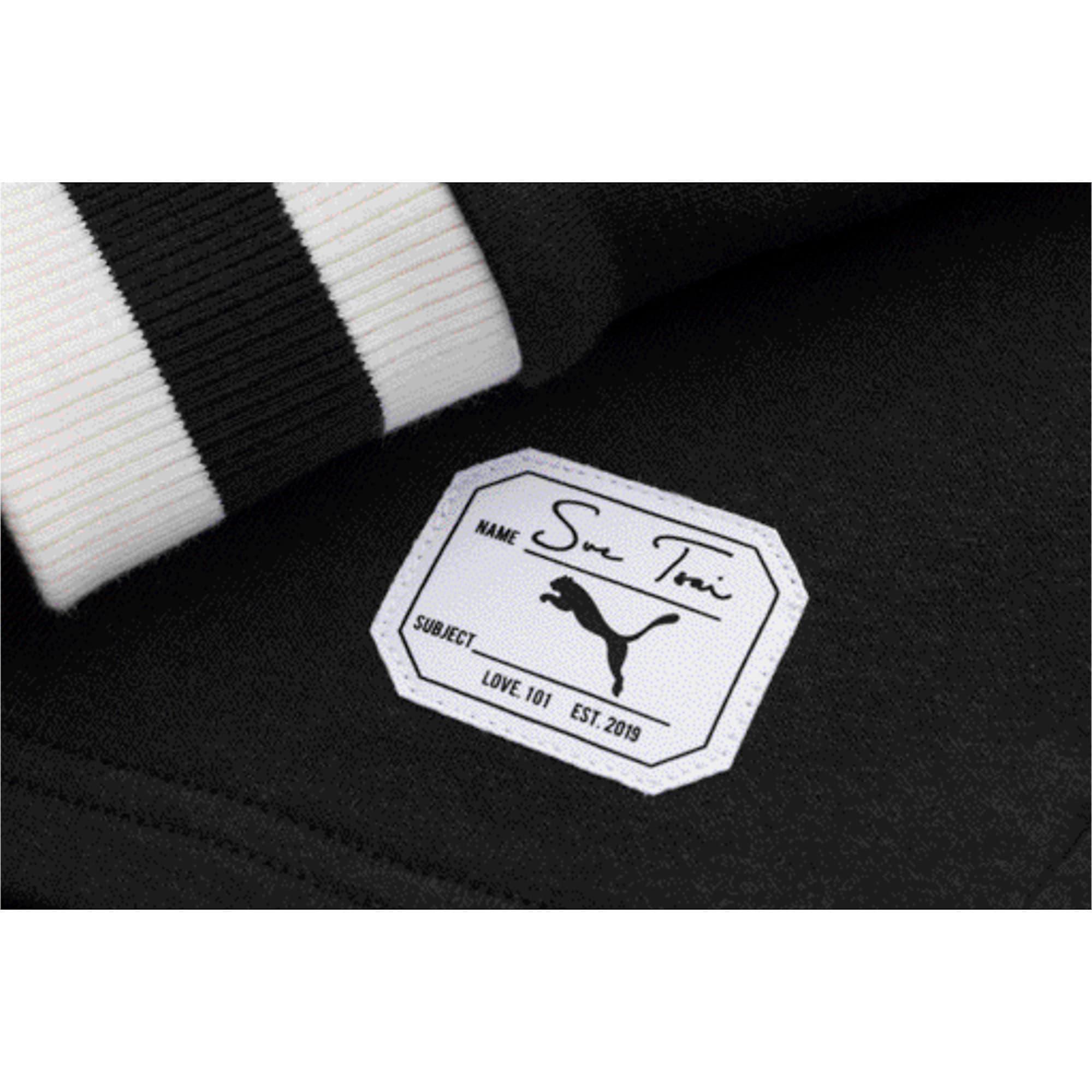 Thumbnail 8 of PUMA x SUE TSAI ウィメンズ Vネック セーター, Puma Black, medium-JPN