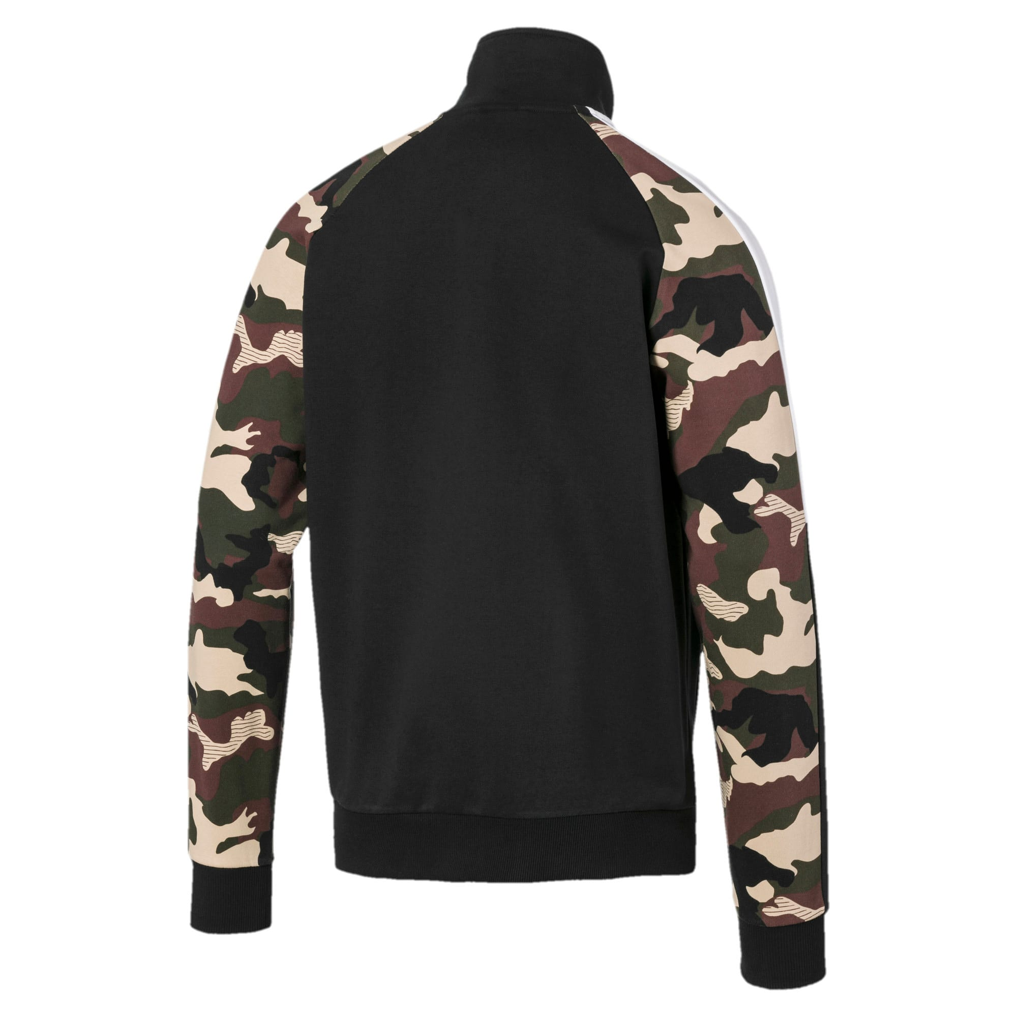 Thumbnail 5 of T7 Men's AOP Track Jacket, Puma Black, medium