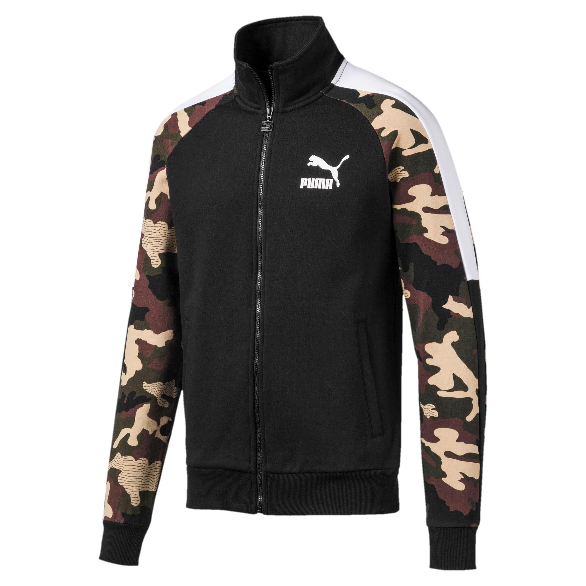 Thumbnail 4 of T7 Men's AOP Track Jacket, Puma Black, medium