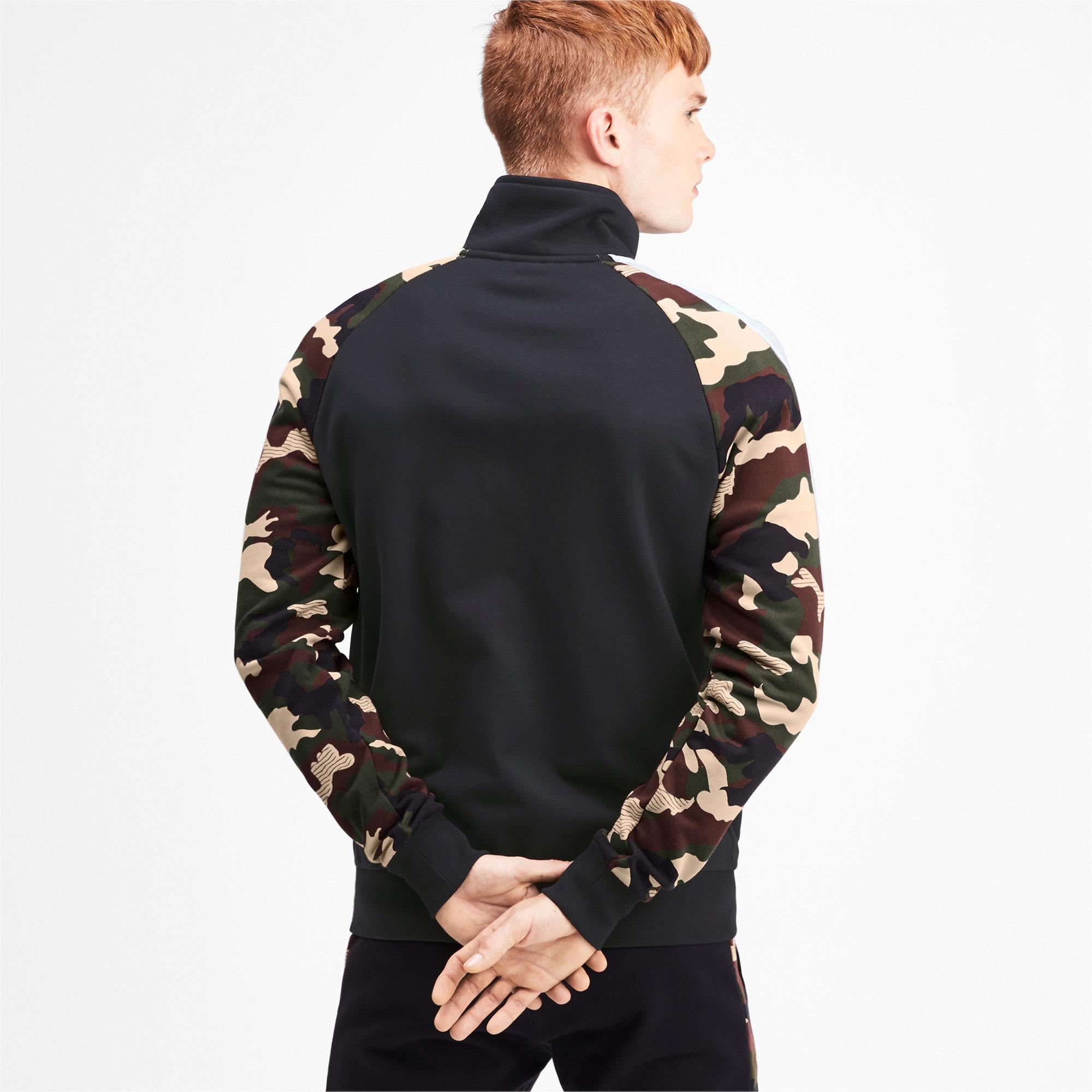 Thumbnail 2 of T7 Men's AOP Track Jacket, Puma Black, medium