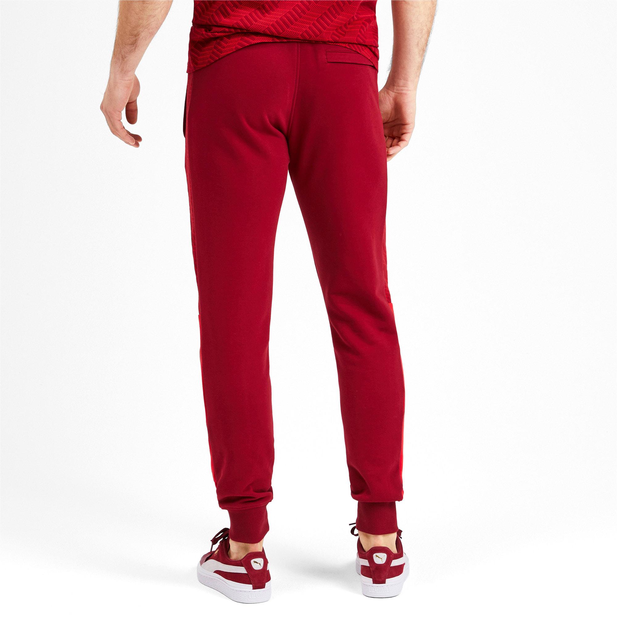 Thumbnail 3 of T7 Men's AOP Track Pants, Rhubarb-Repeat logo, medium