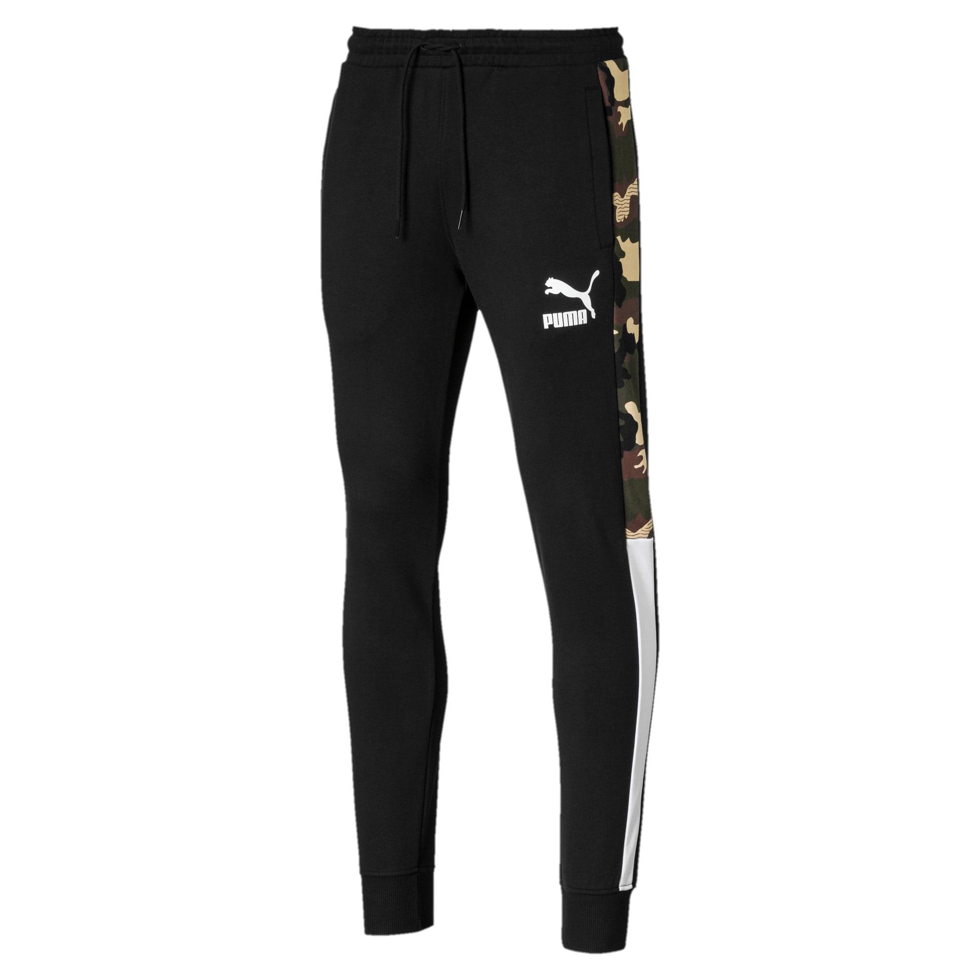 Thumbnail 4 of T7 Men's AOP Track Pants, Puma Black, medium