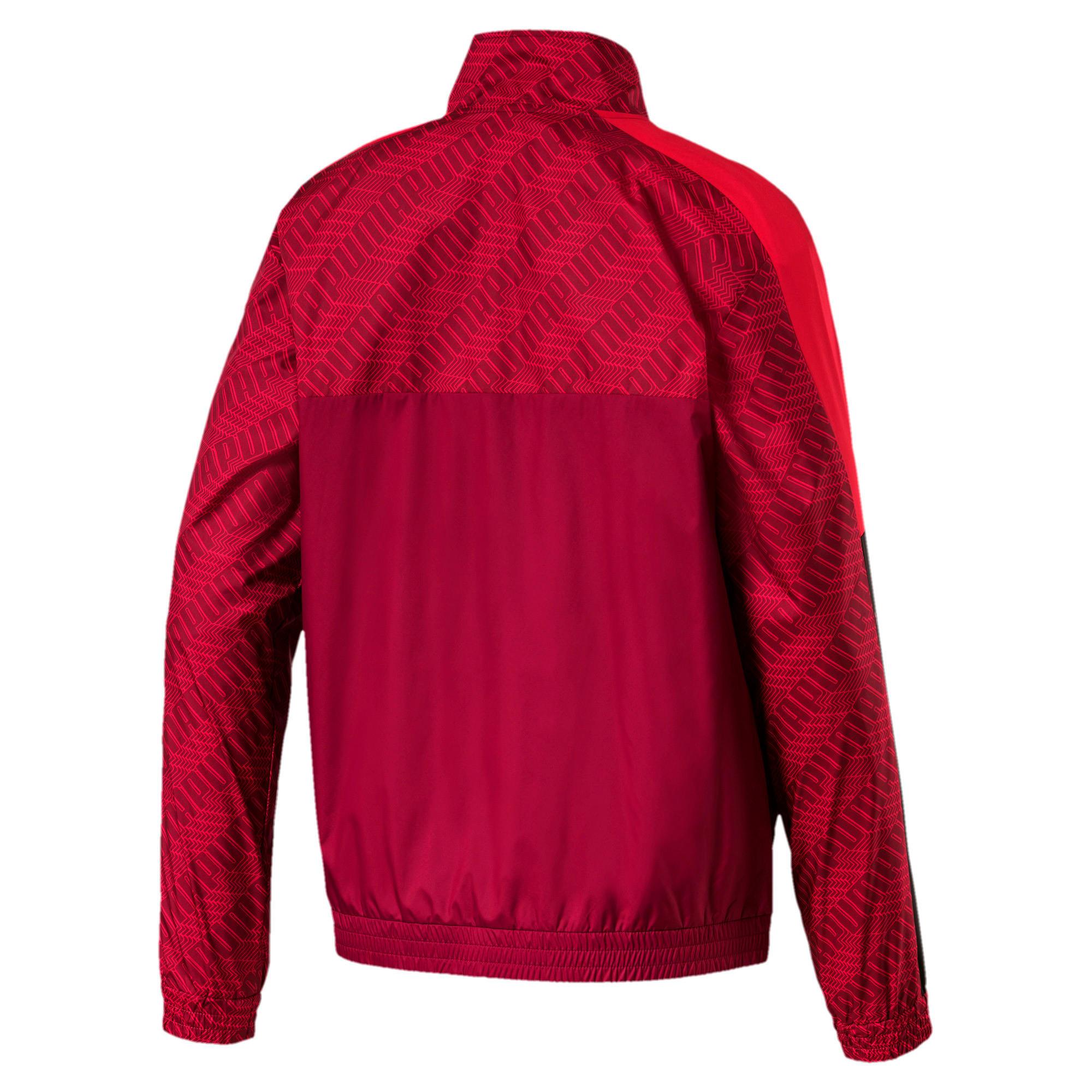 Thumbnail 5 of T7 Men's AOP Track Jacket, Rhubarb-Repeat logo, medium
