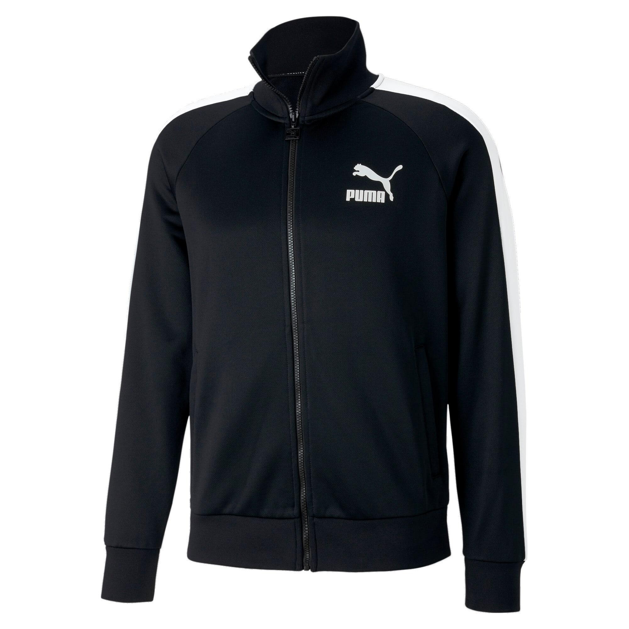 Thumbnail 4 of Iconic T7 Men's Track Jacket, Puma Black, medium