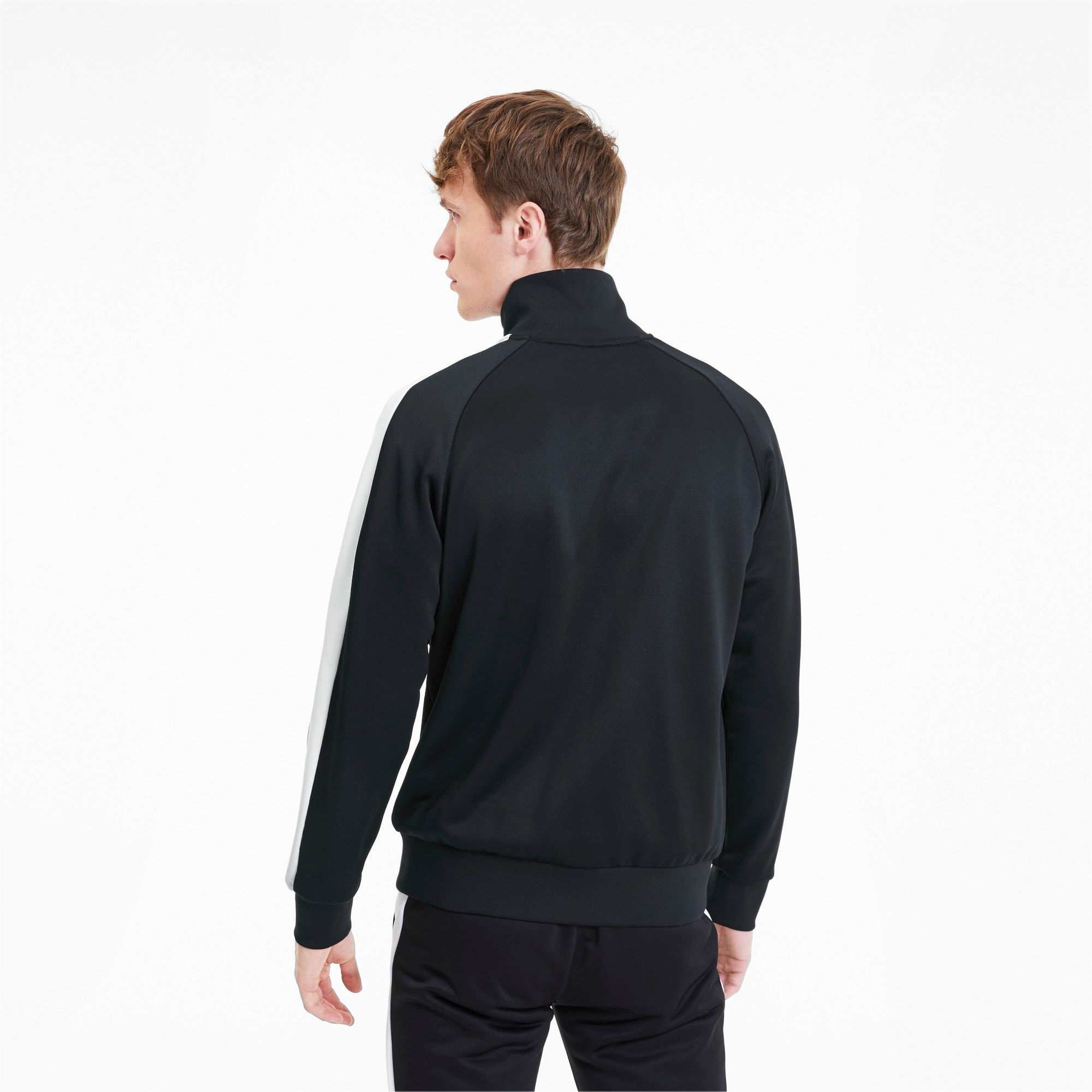 Thumbnail 2 of Iconic T7 Men's Track Jacket, Puma Black, medium