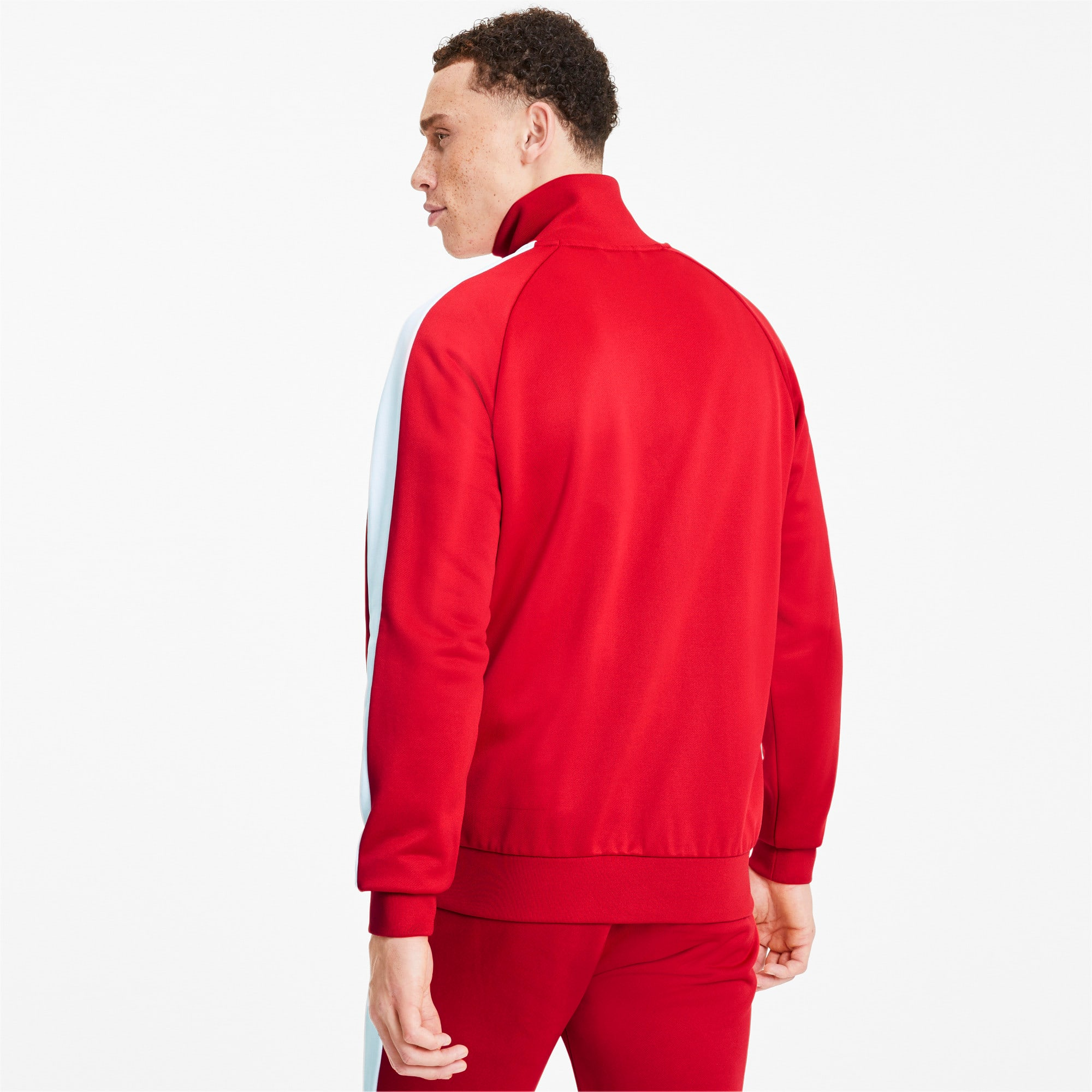 Thumbnail 2 of Iconic T7 Men's Track Jacket, High Risk Red, medium