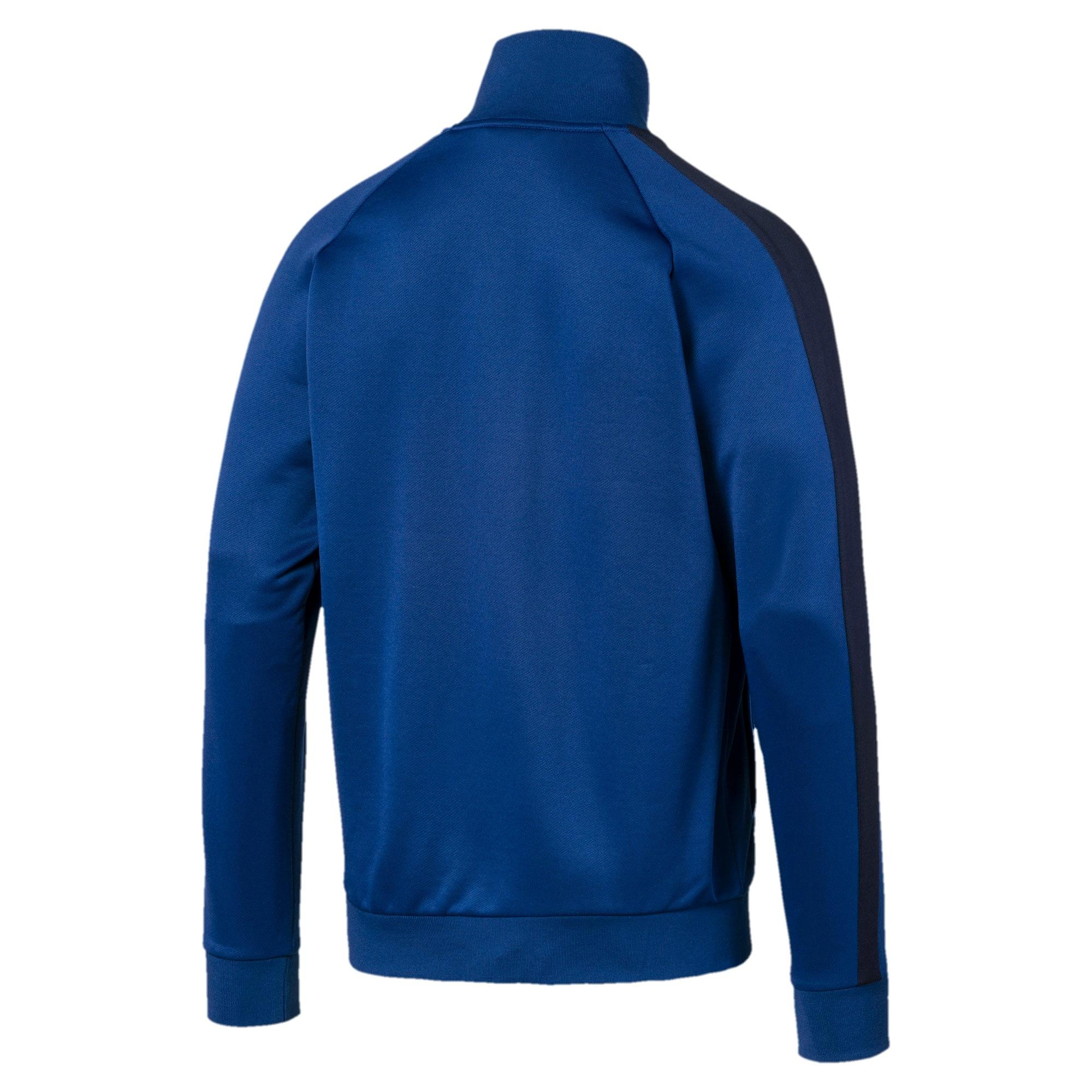 Thumbnail 5 of Iconic T7 Men's Track Jacket, Galaxy Blue, medium