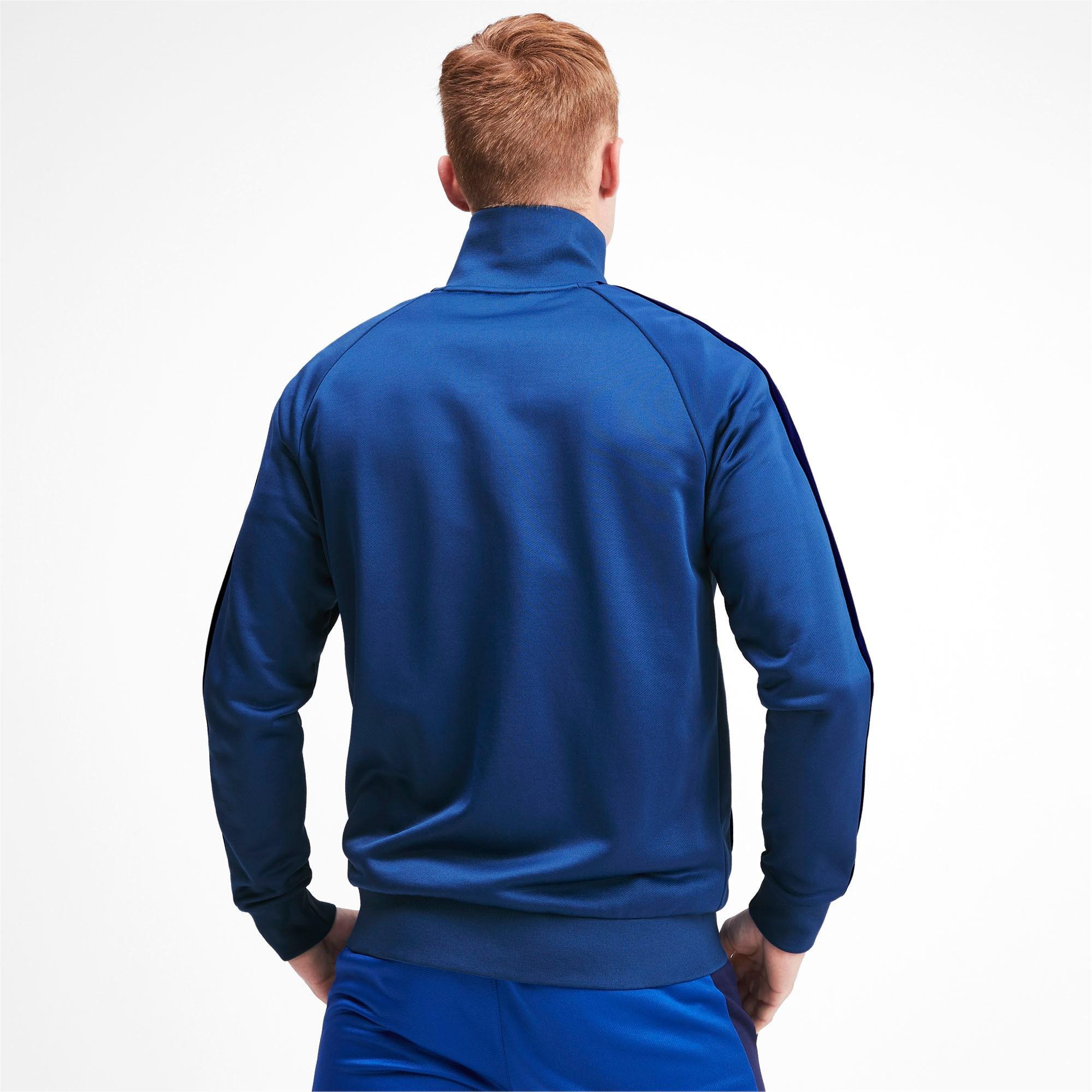 Thumbnail 3 of Iconic T7 Men's Track Jacket, Galaxy Blue, medium