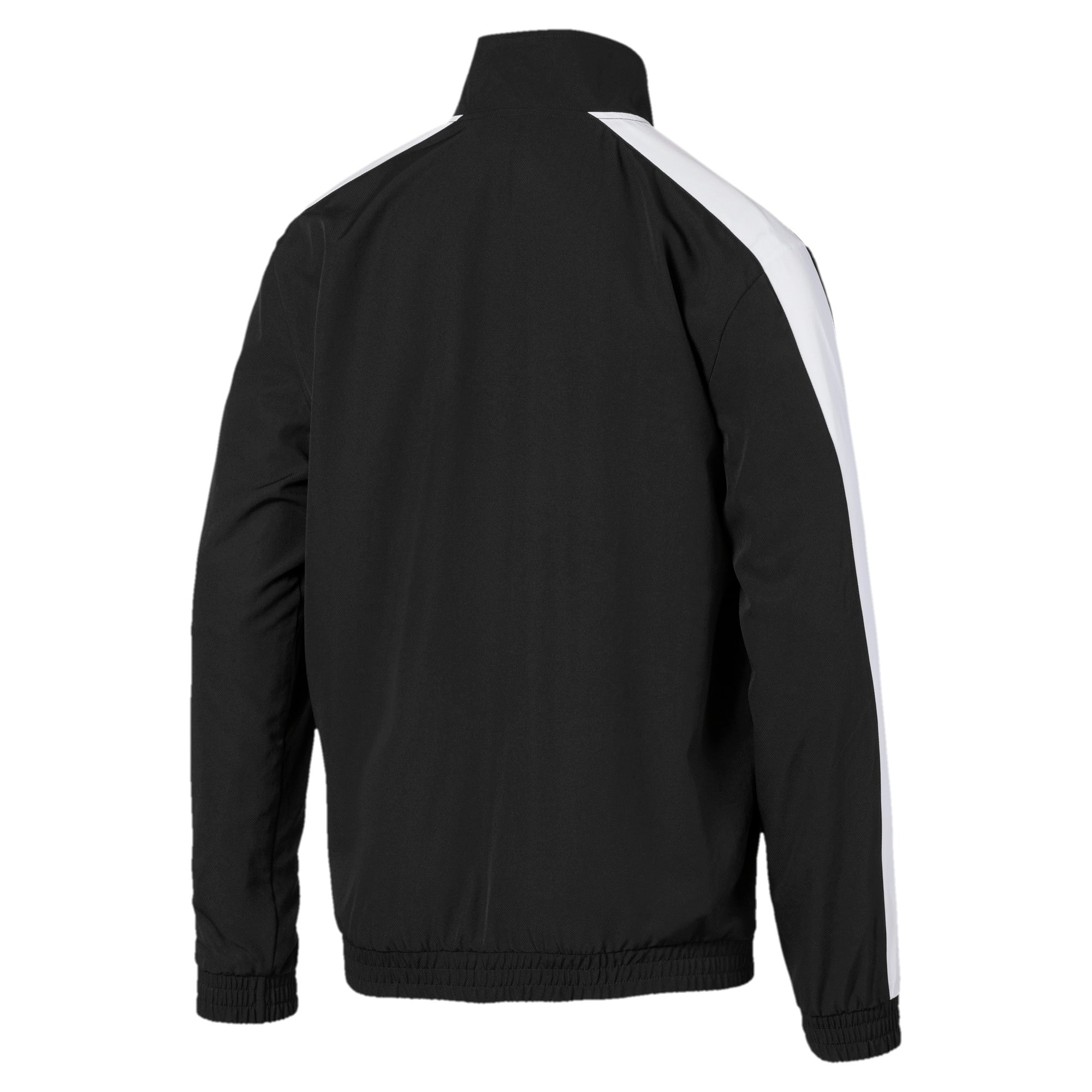 Thumbnail 5 of Iconic T7 Men's Woven Track Jacket, Puma Black, medium