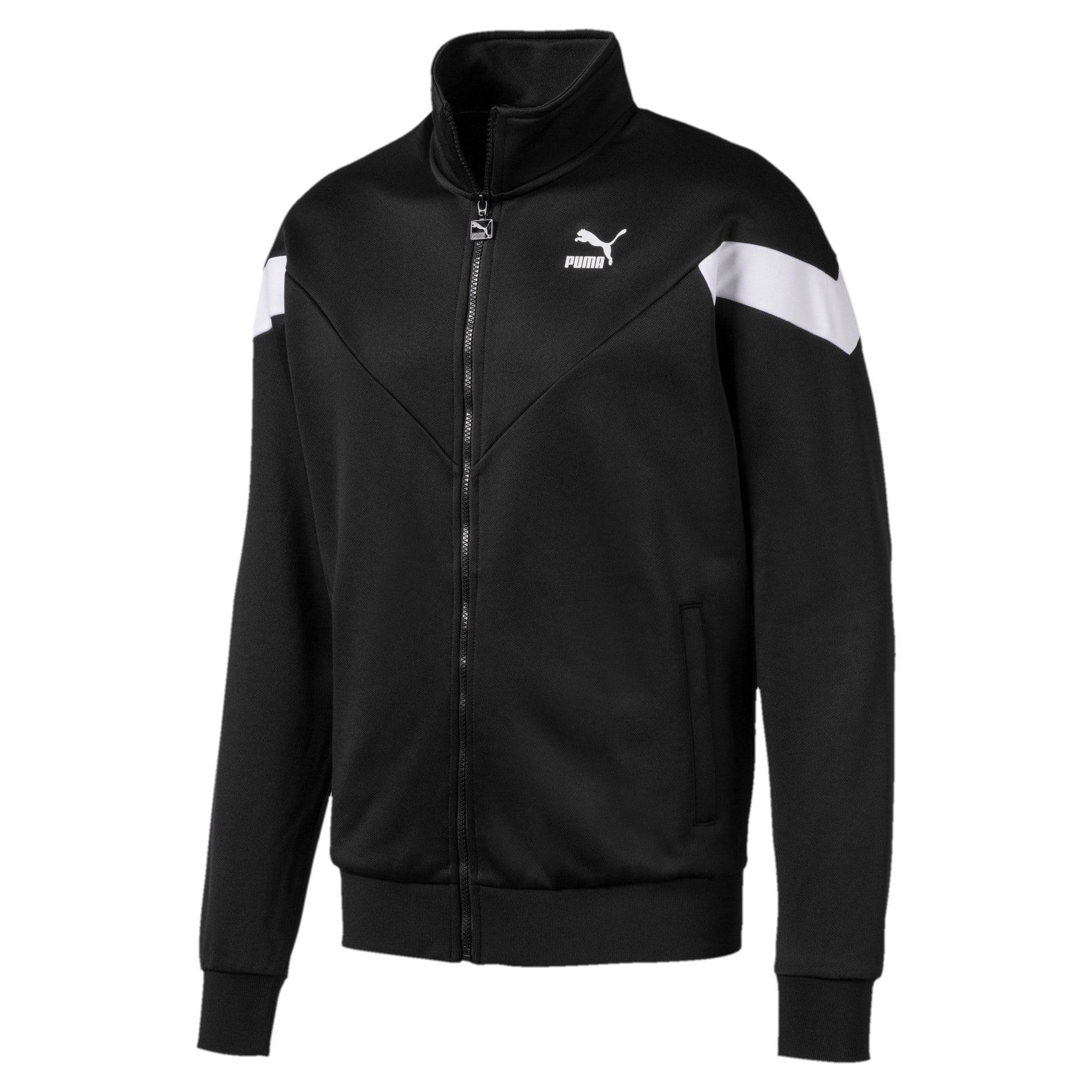 Thumbnail 1 of Iconic MCS Men's Track Jacket, Puma Black, medium