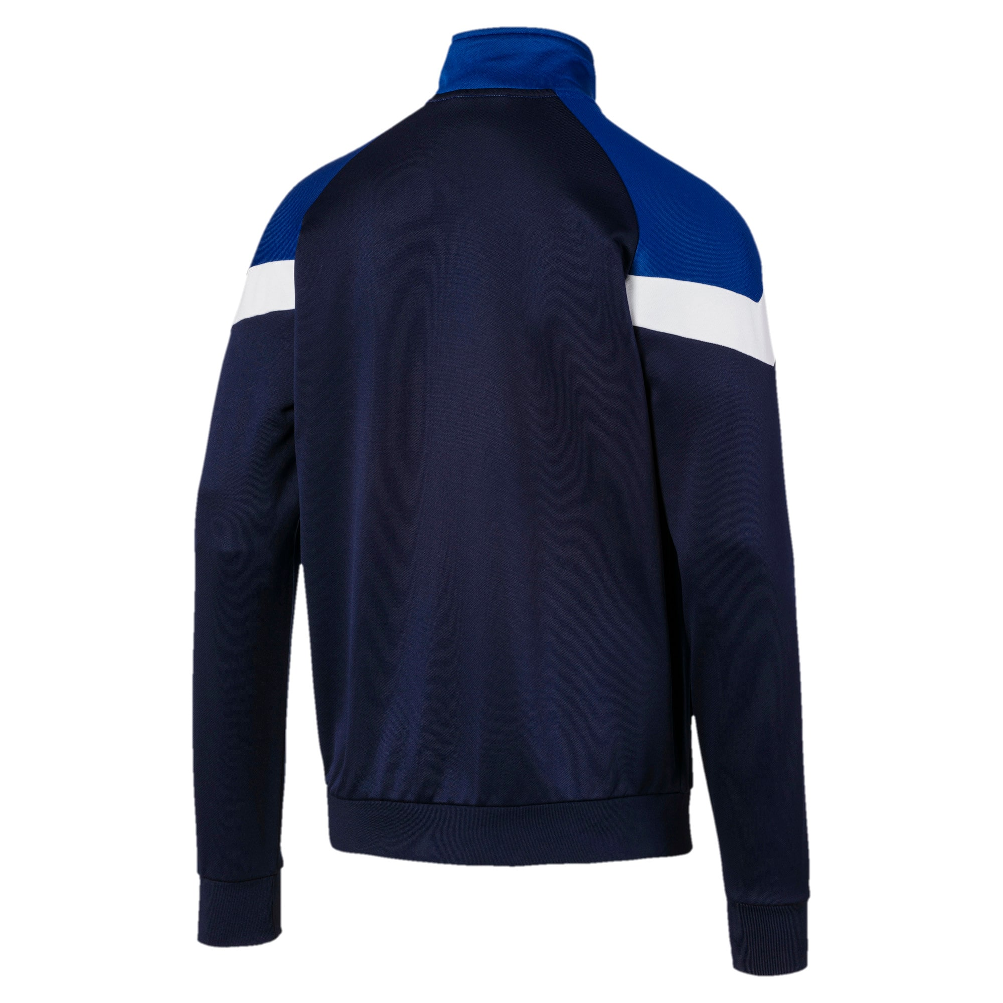 Thumbnail 5 of Iconic MCS Men's Track Jacket, Peacoat, medium