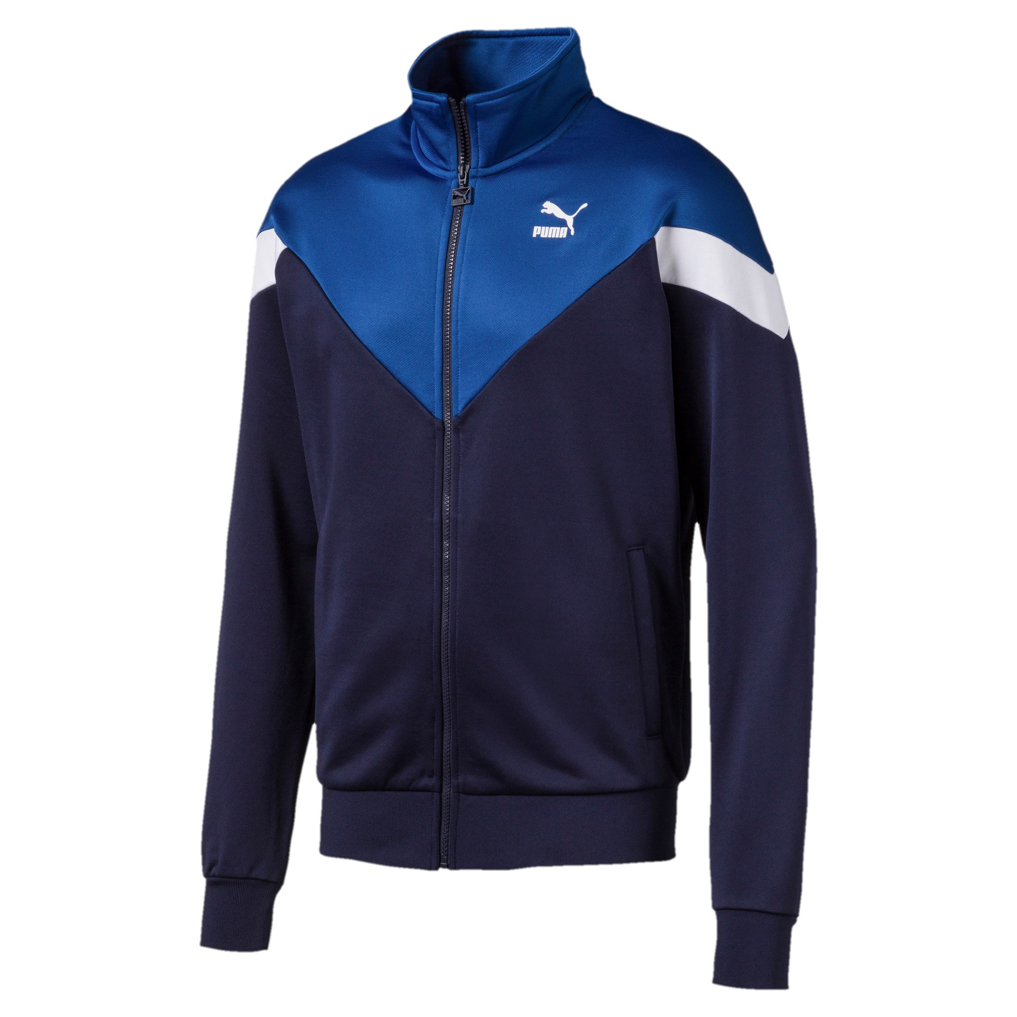 Thumbnail 1 of Iconic MCS Men's Track Jacket, Peacoat, medium