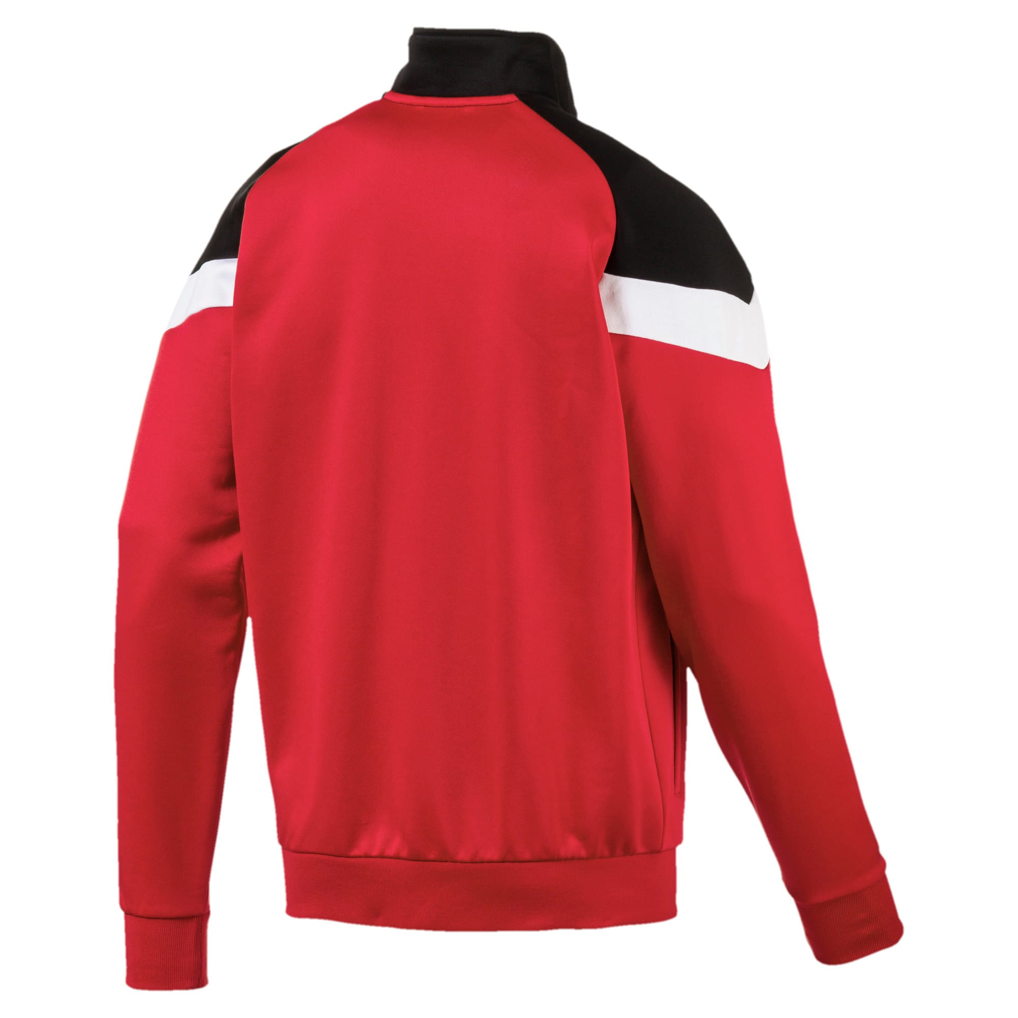 Thumbnail 5 of Iconic MCS Men's Track Jacket, High Risk Red, medium